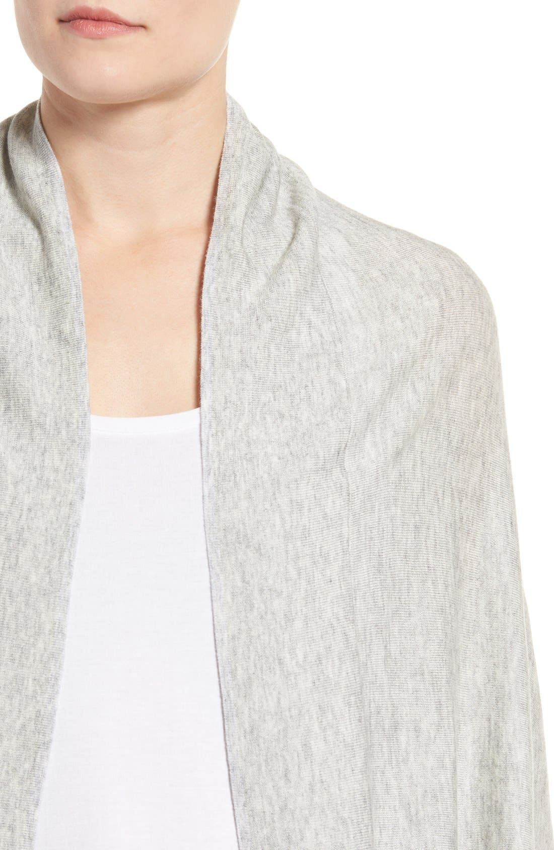 Knit Cocoon Cardigan,                             Alternate thumbnail 36, color,