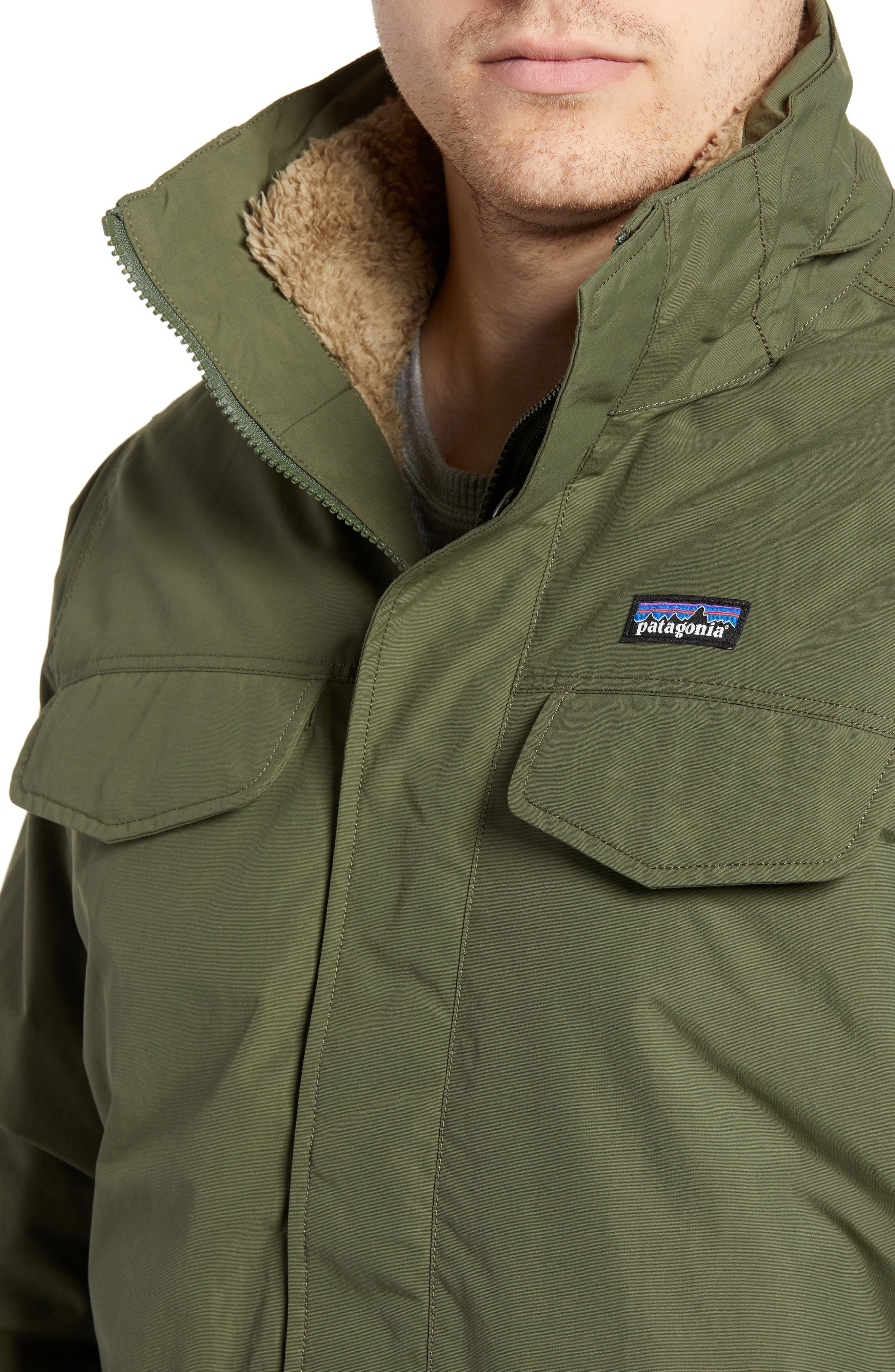 Isthmus Wind Resistant Water Repellent Hooded Parka,                             Alternate thumbnail 4, color,                             302