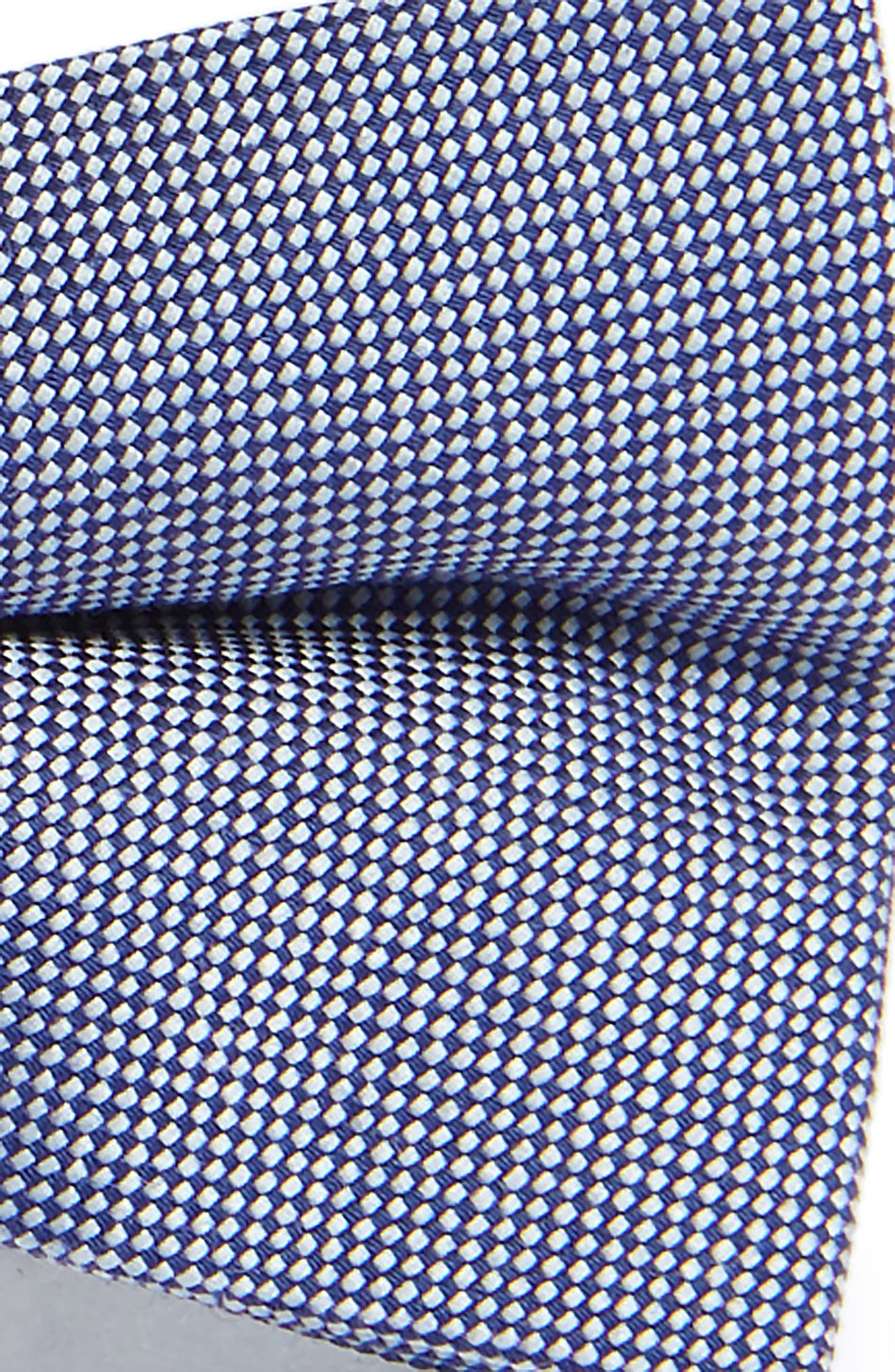 Chambray Silk Bow Tie,                             Alternate thumbnail 2, color,                             411