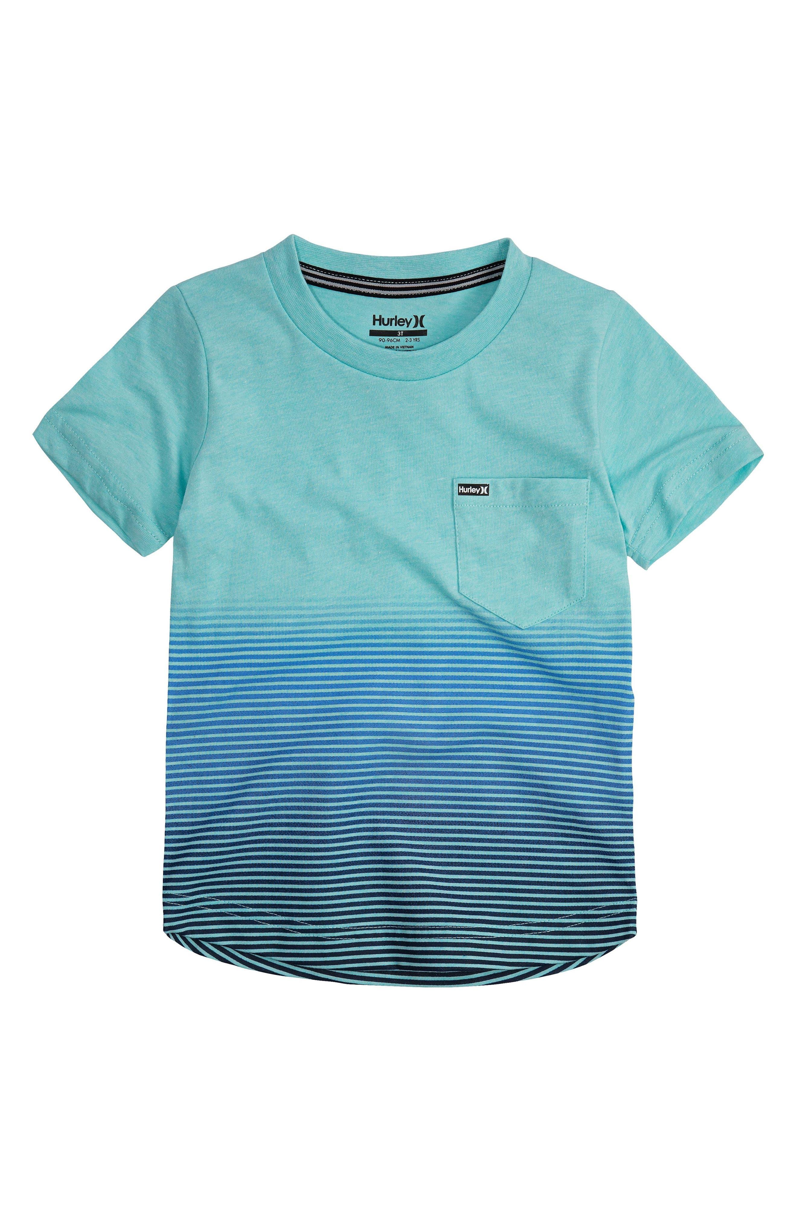 Ombré Stripe T-Shirt,                             Main thumbnail 4, color,