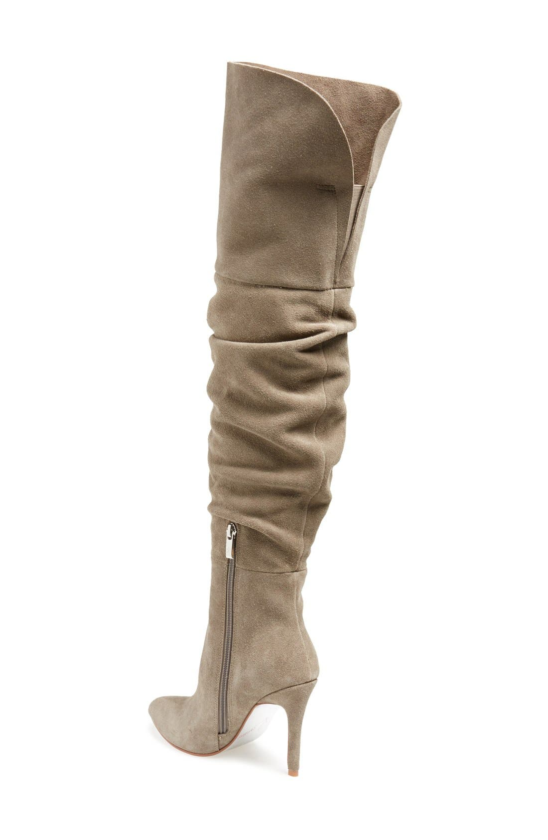 KRISTIN CAVALLARI,                             'Calissa' Over the Knee Slouch Boot,                             Alternate thumbnail 2, color,                             031
