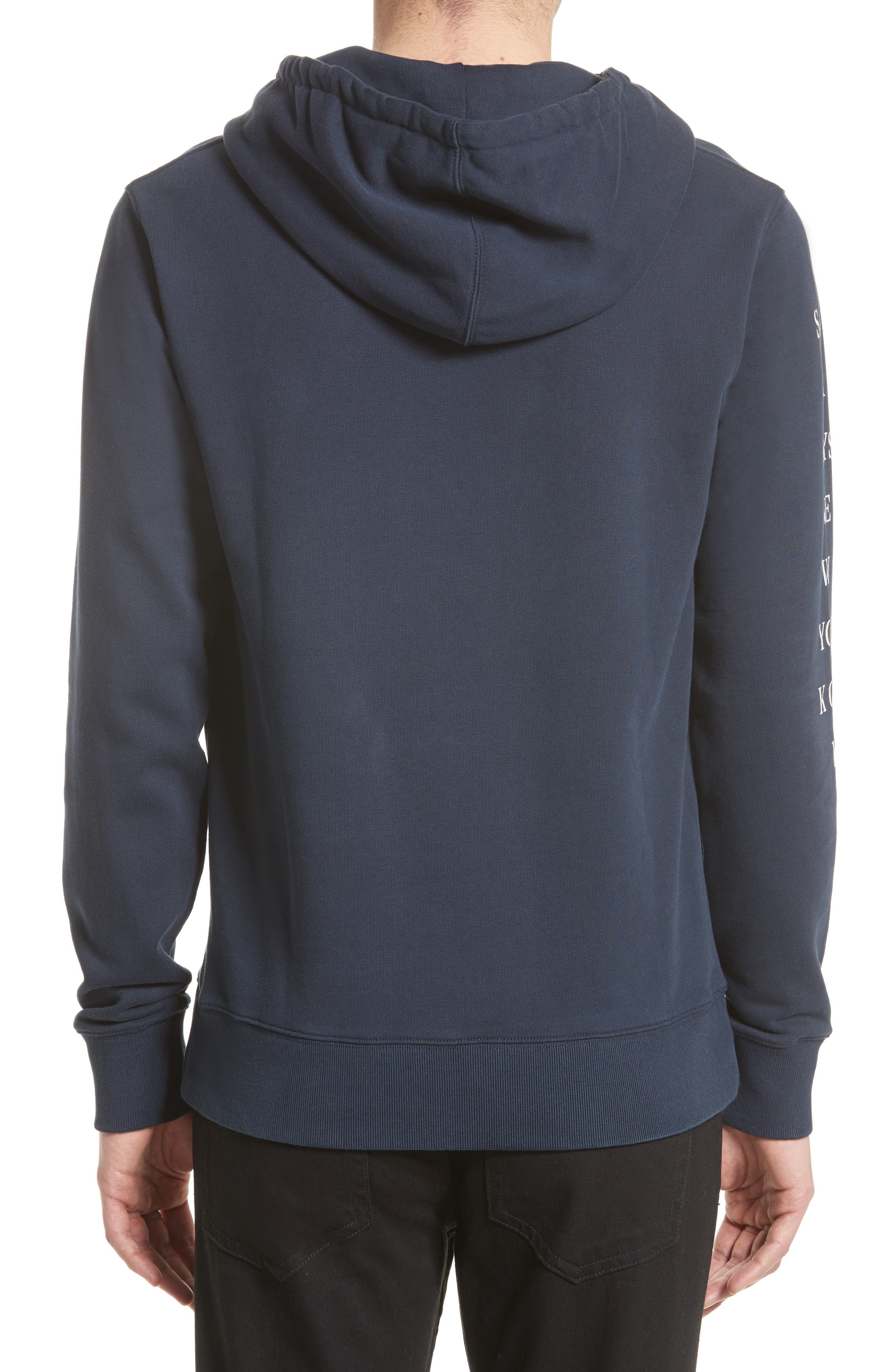 Ditch Sleeve Logo Hoodie,                             Alternate thumbnail 2, color,                             401