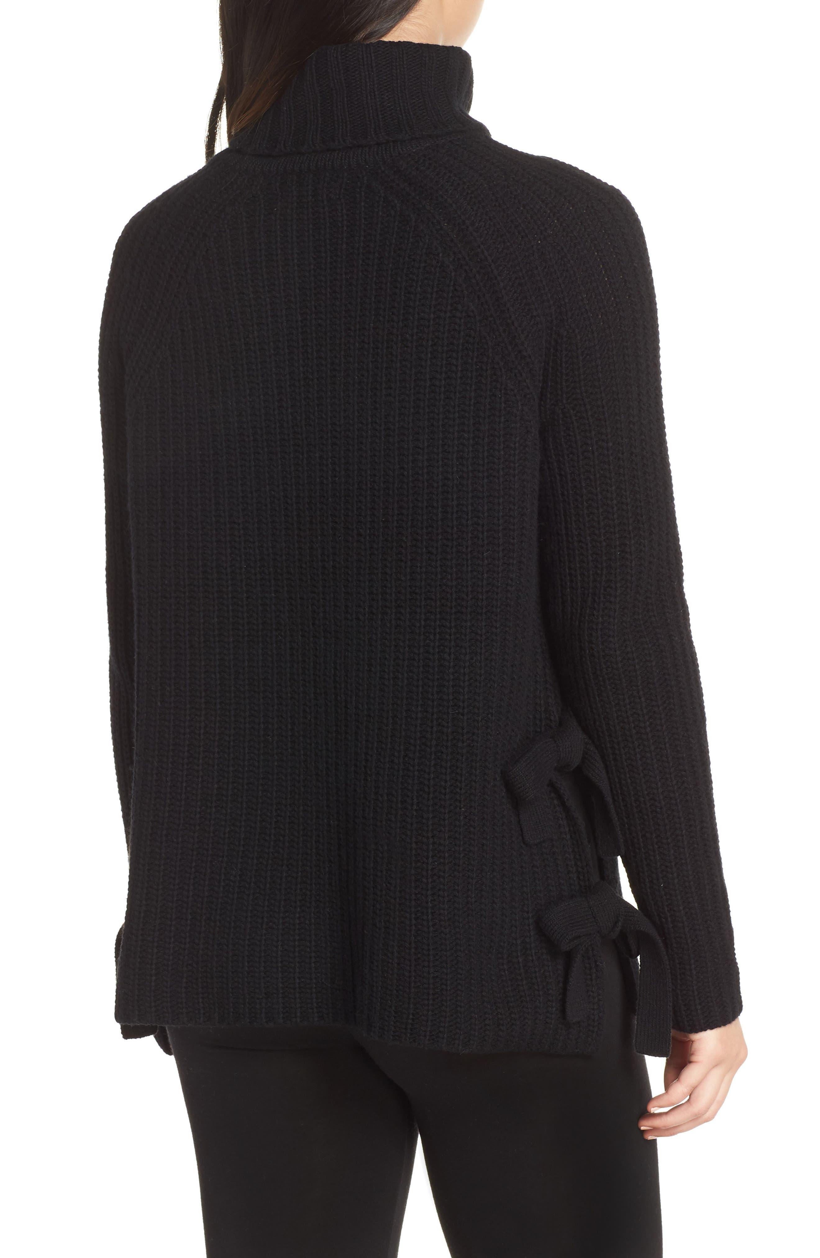 Ceanne Turtleneck Sweater,                             Alternate thumbnail 2, color,                             001