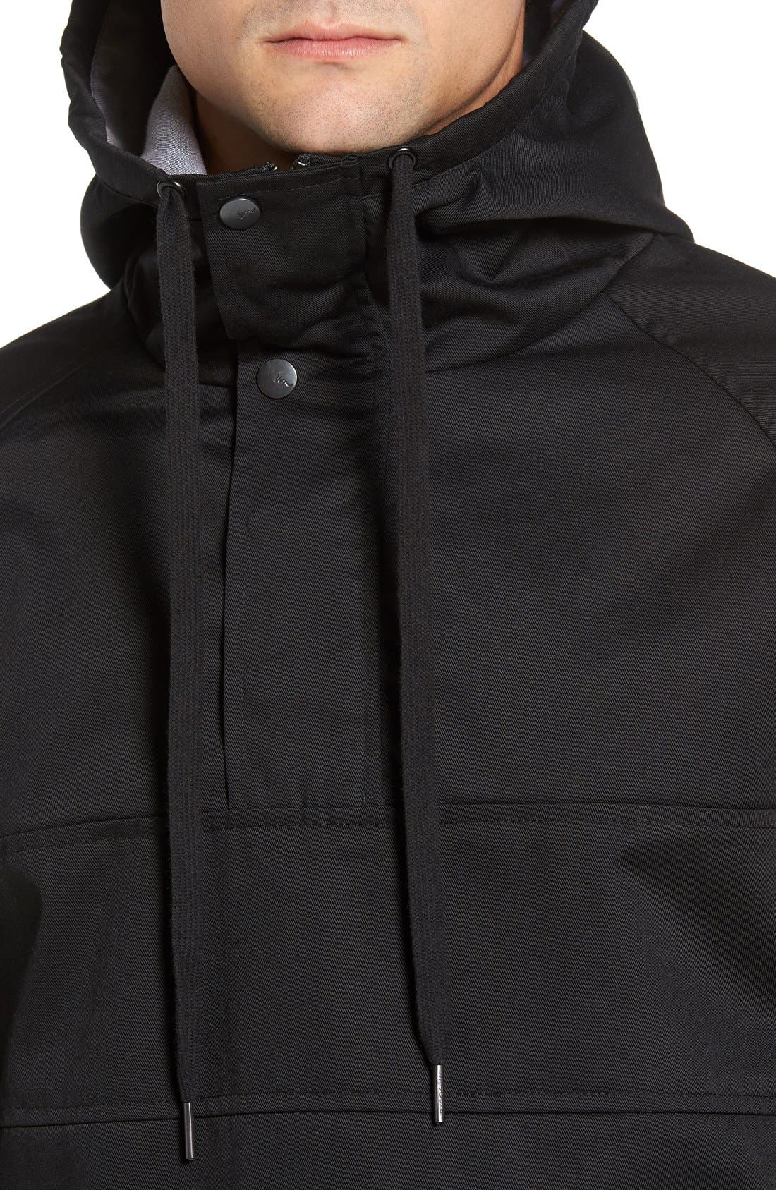 'Clinton' Hooded Anorak,                             Alternate thumbnail 4, color,                             001
