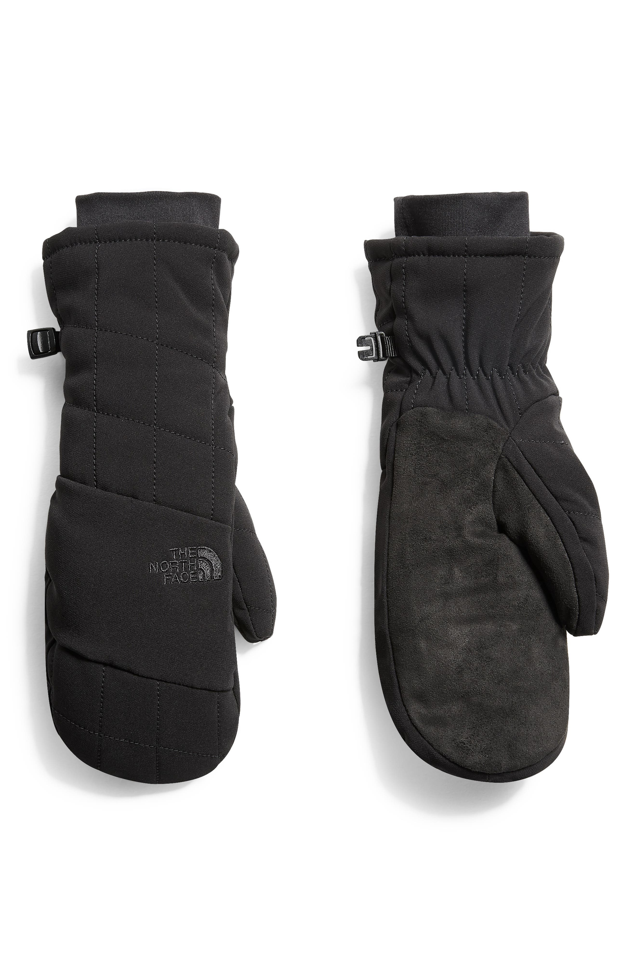 Pseudio Water Resistant Heatseeker<sup>™</sup> Insulated Mittens,                             Main thumbnail 1, color,                             001