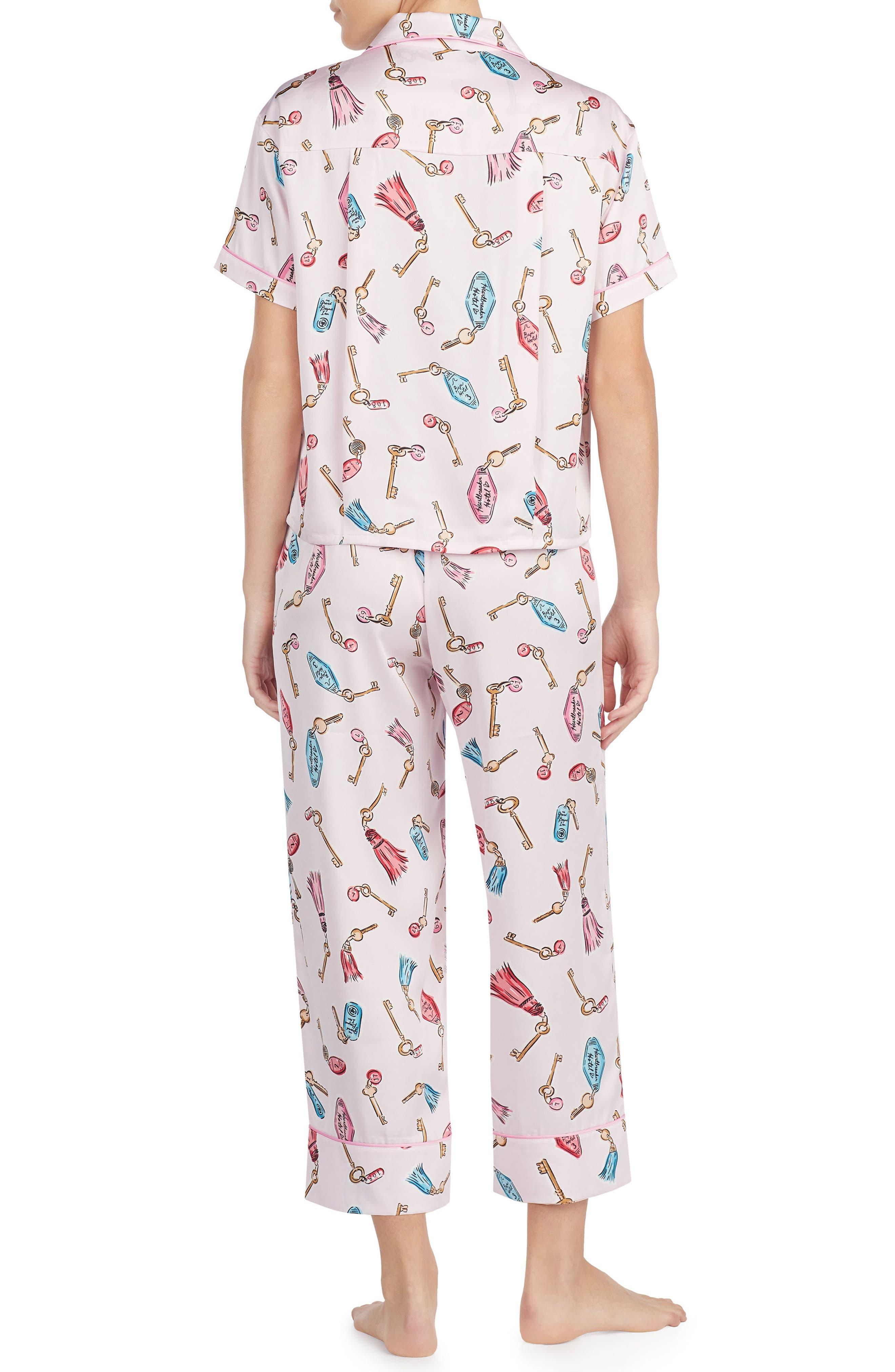 print pajamas,                             Alternate thumbnail 6, color,