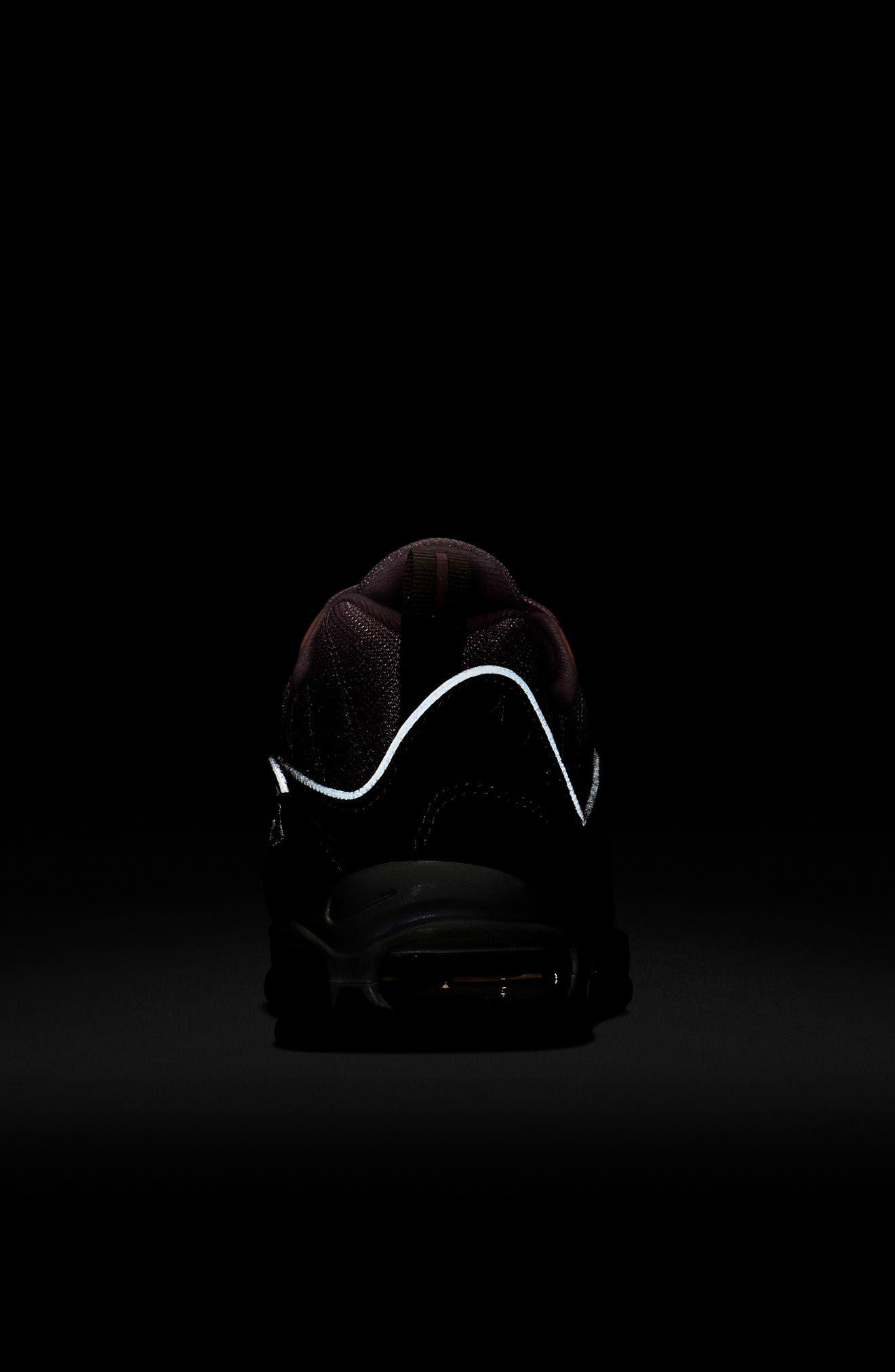 Air Max 98 Sneaker,                             Alternate thumbnail 6, color,                             PUMICE/ PLUM CHALK/ WHITE