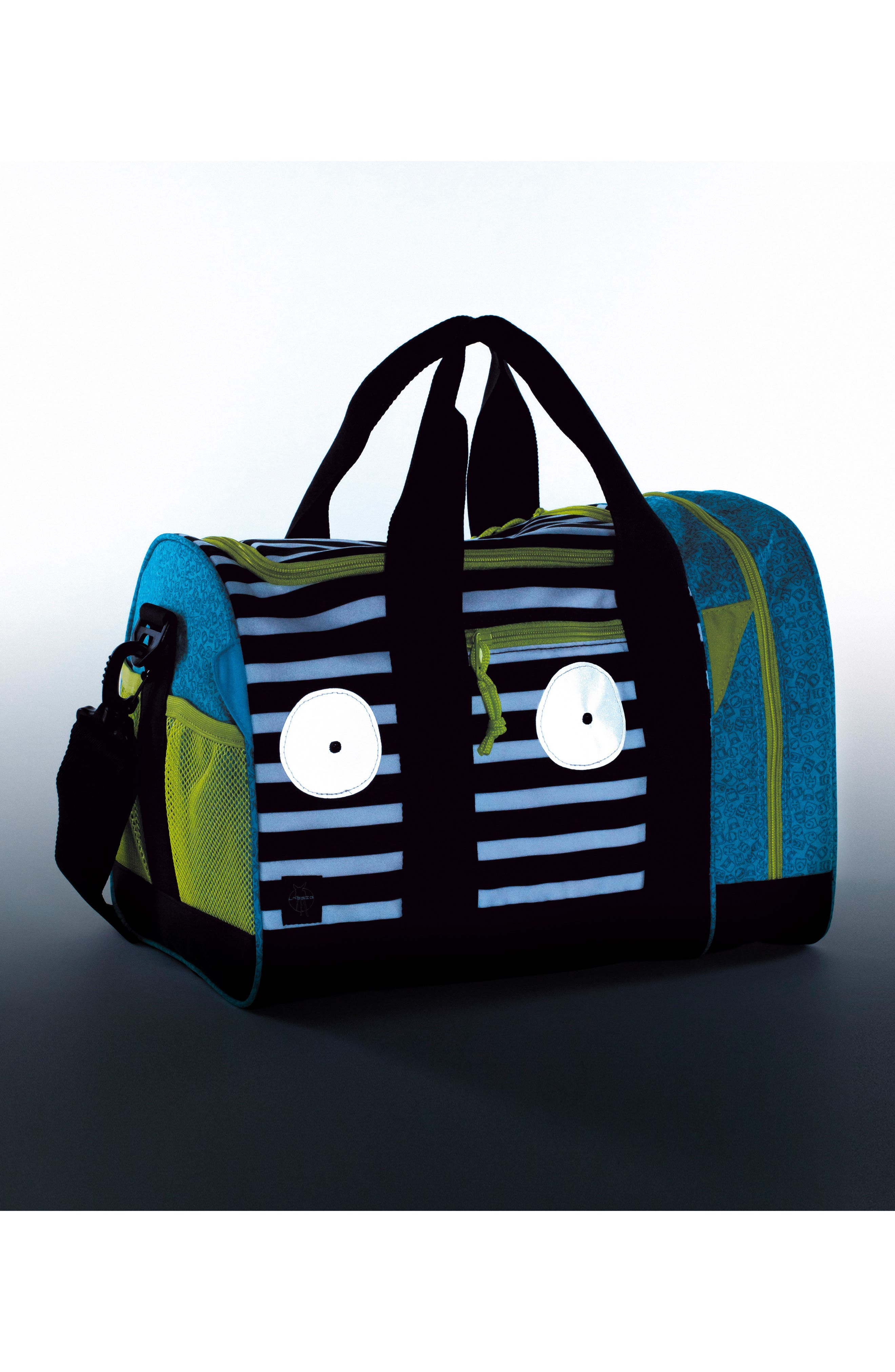 Mini Sports Bag with Glow-in-the-Dark Eyes,                             Alternate thumbnail 2, color,                             BOUNCING BOB