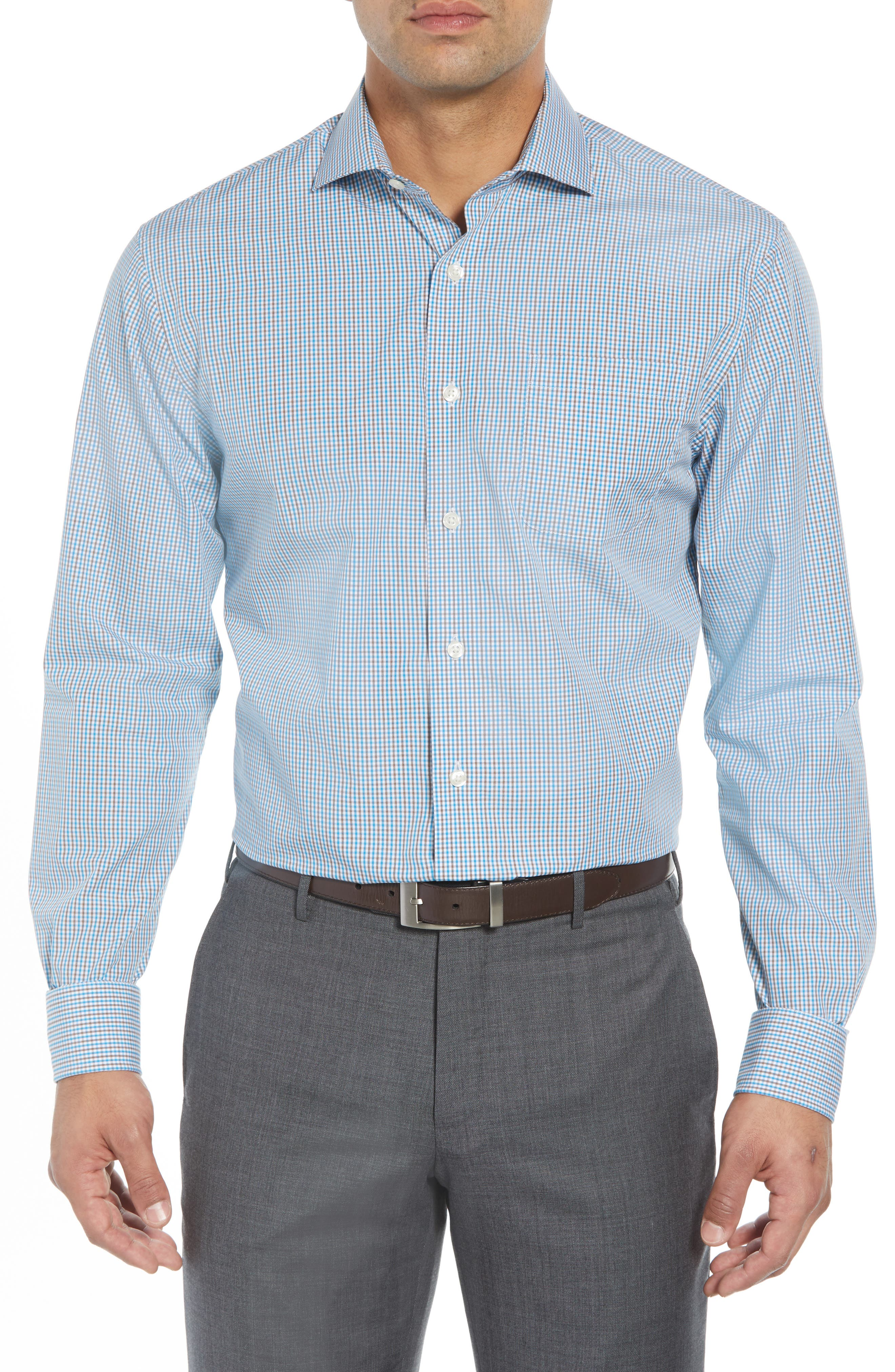 JOHNNIE-O Douglas Classic Fit Sport Shirt, Main, color, 434