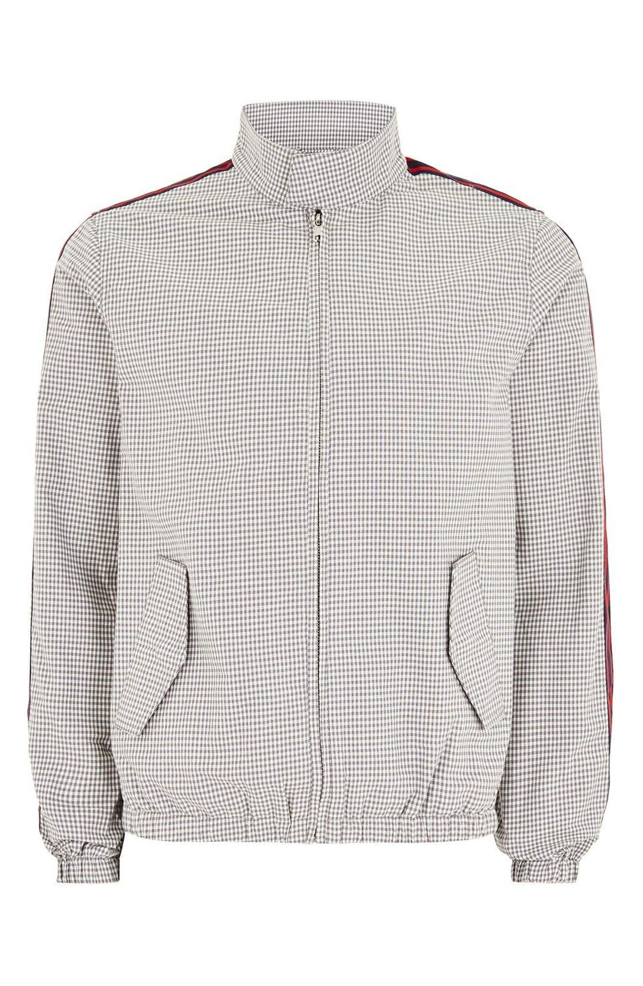 Check Harrington Jacket,                             Alternate thumbnail 5, color,                             050