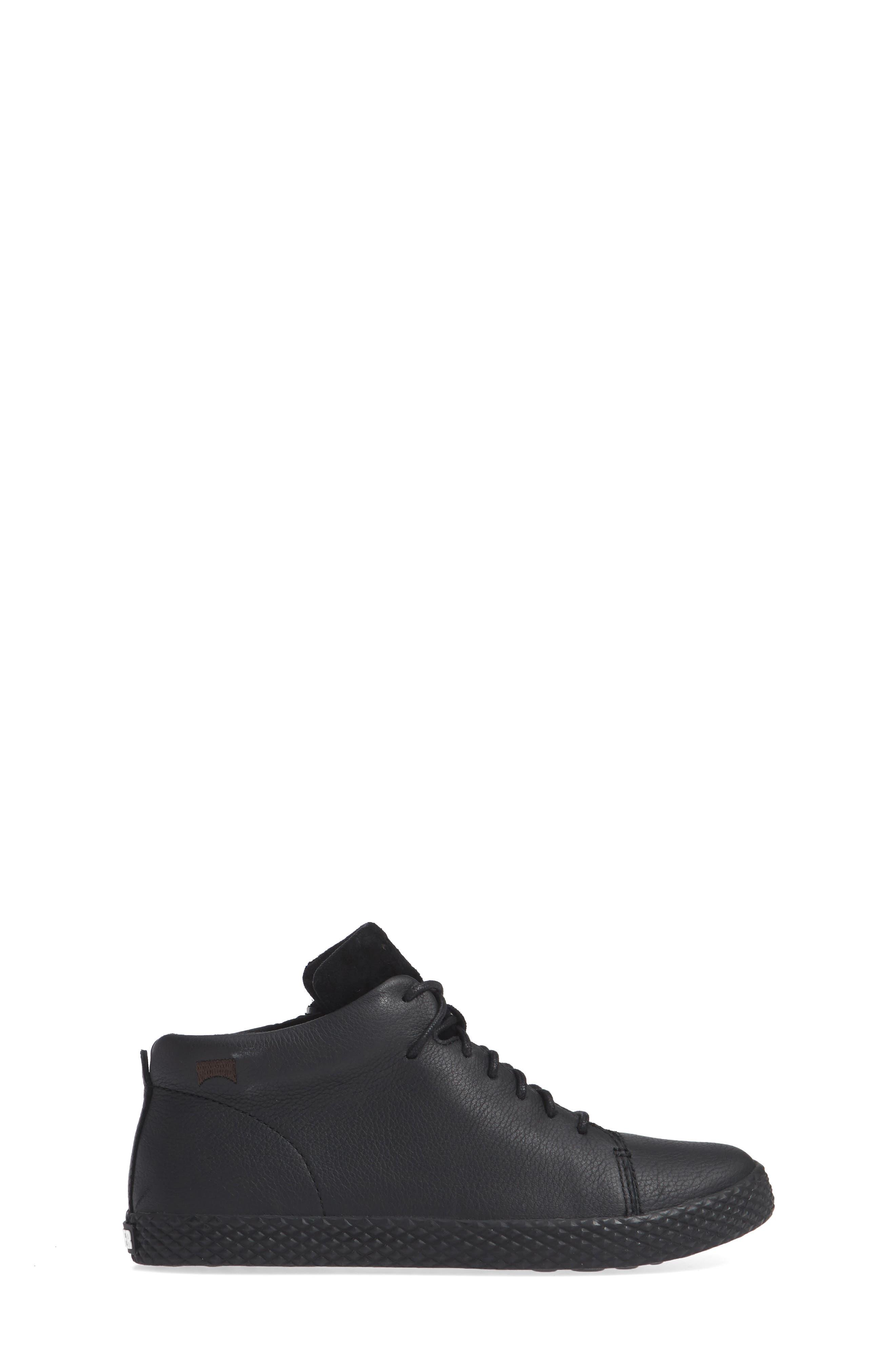 Pursuit Sneaker,                             Alternate thumbnail 3, color,                             BLACK