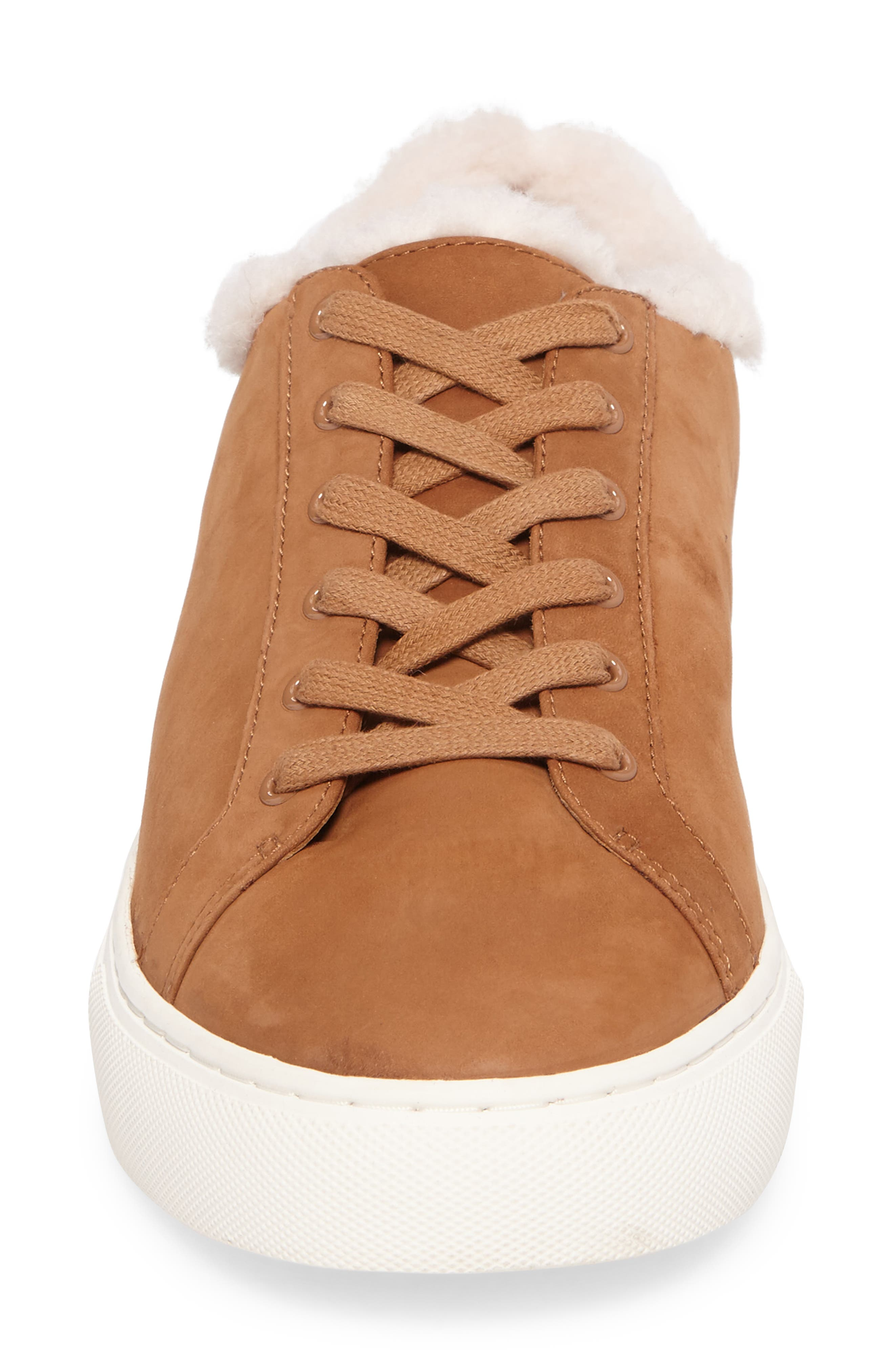 Lawrence Genuine Shearling Lined Sneaker,                             Alternate thumbnail 8, color,