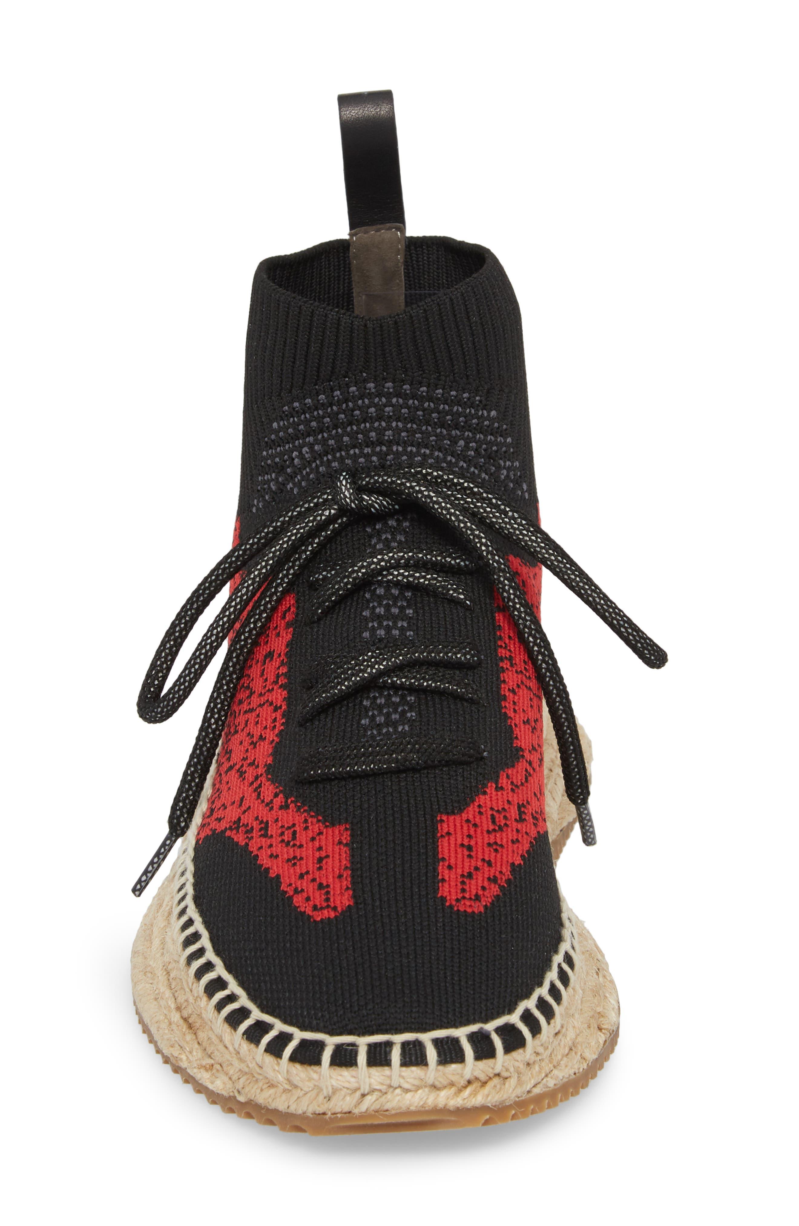 Dakota Espadrille Sock Sneaker,                             Alternate thumbnail 8, color,