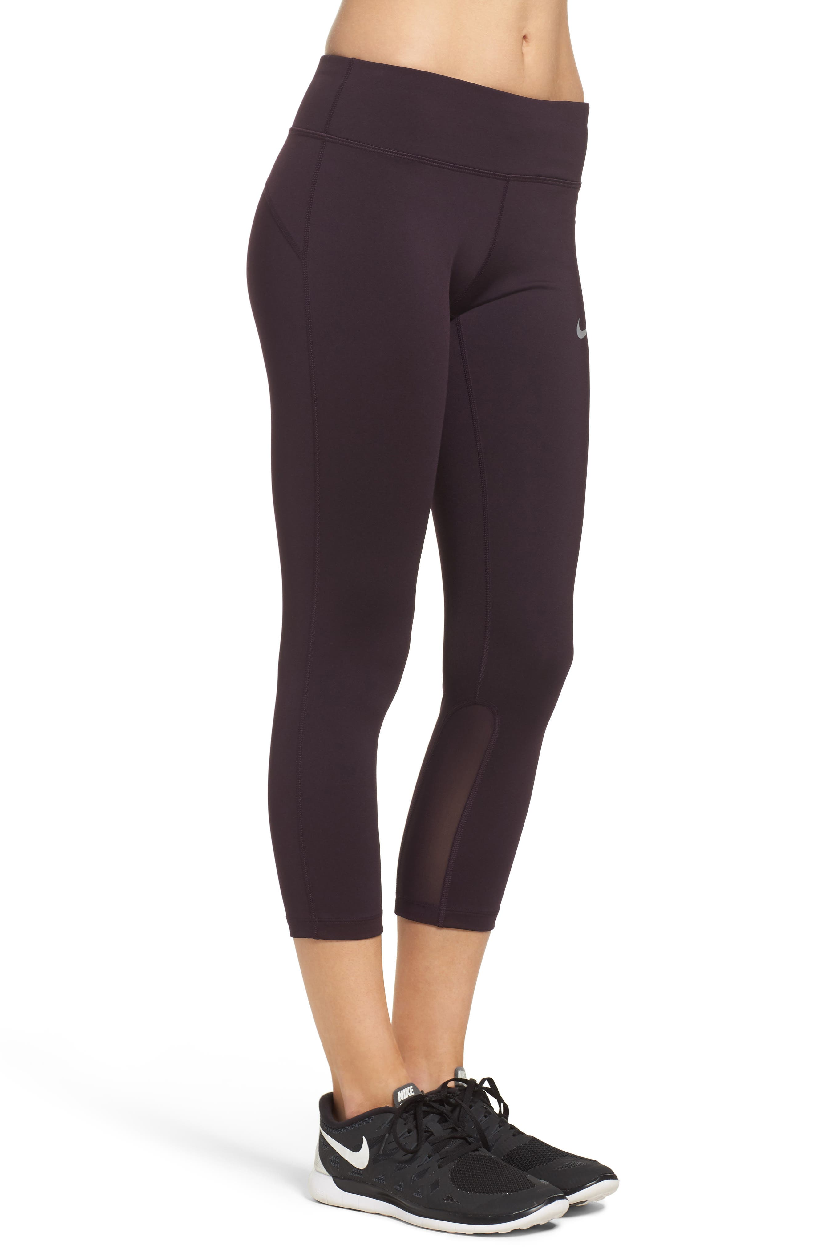 Power Epic Run Crop Tights,                             Alternate thumbnail 21, color,