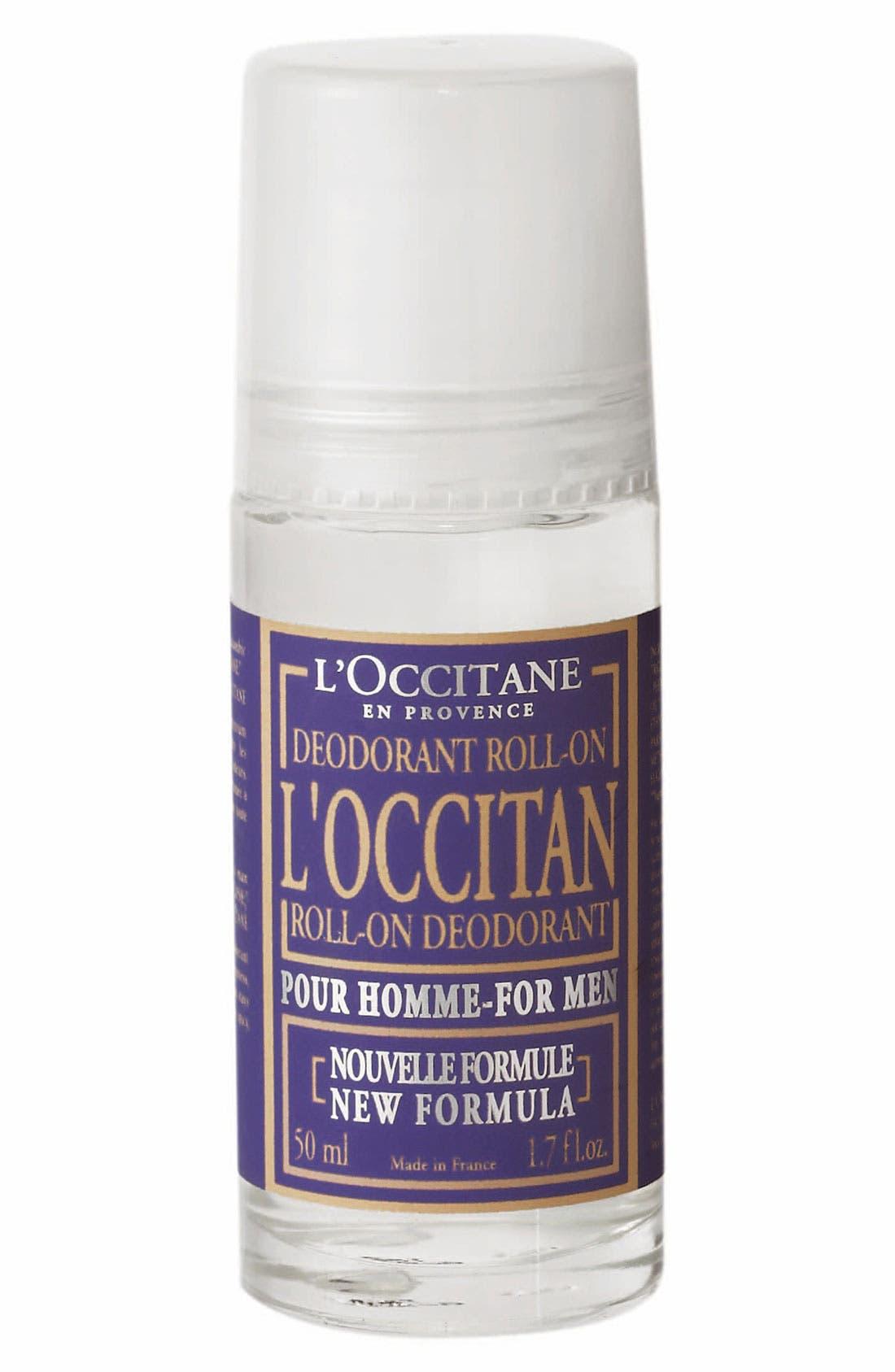 'L'Occitan' Roll-On Deodorant,                             Main thumbnail 1, color,                             000