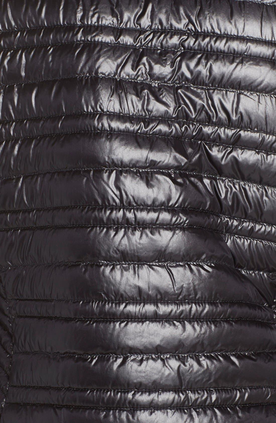 PATAGONIA,                             'Ultralight' Down Puffer Jacket,                             Alternate thumbnail 5, color,                             BLACK