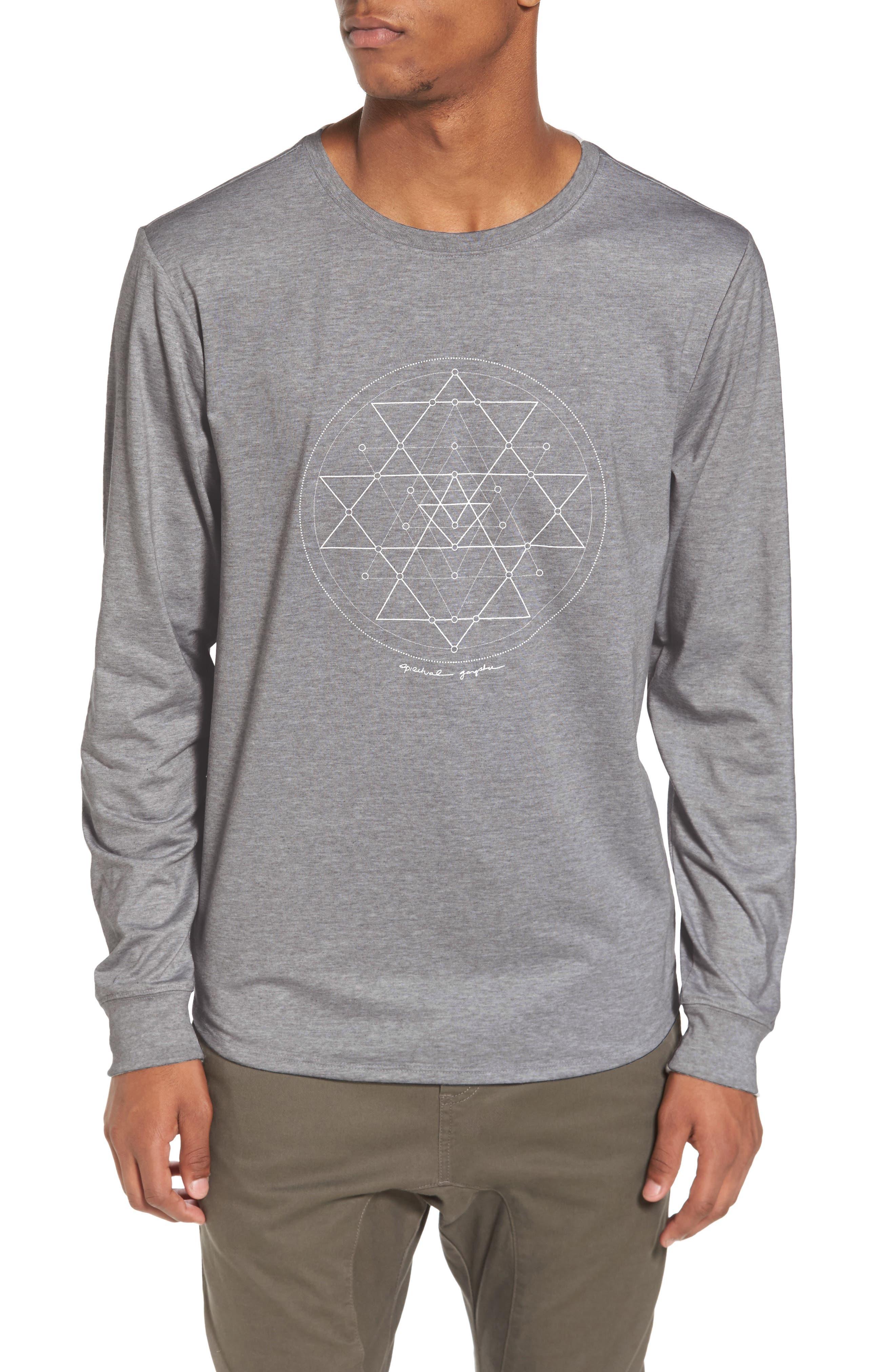 Yantra Long Sleeve T-Shirt,                             Main thumbnail 1, color,                             030