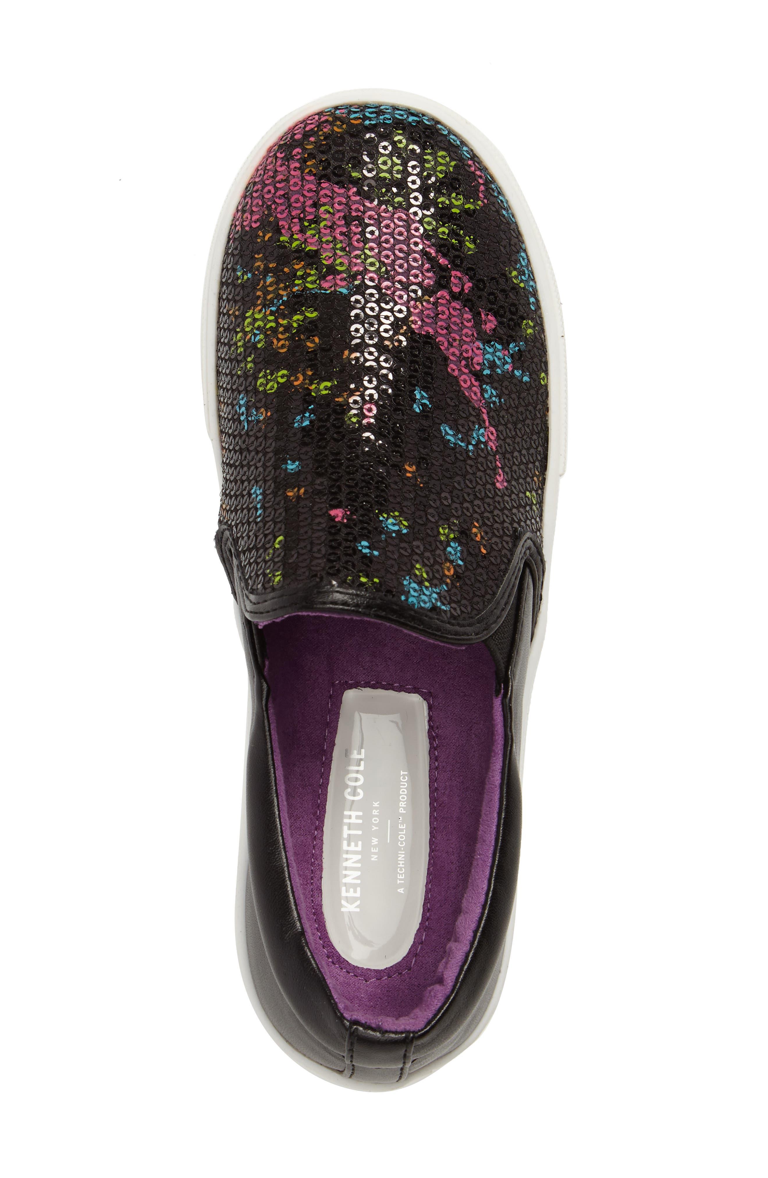 Kam Paint Slip-On Sneaker,                             Alternate thumbnail 5, color,                             001