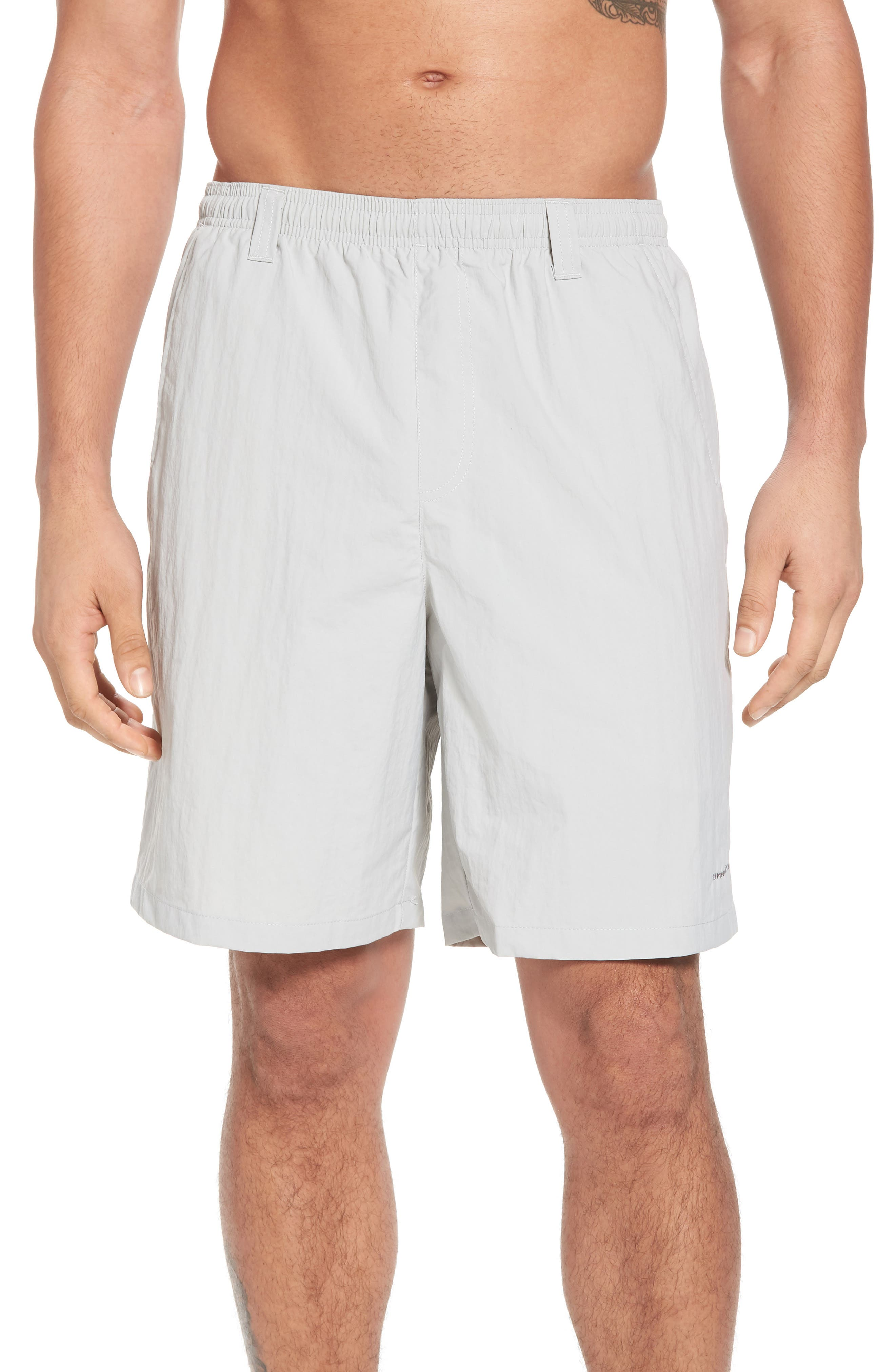 Backcast III Swim Trunks,                             Main thumbnail 1, color,                             COOL GREY