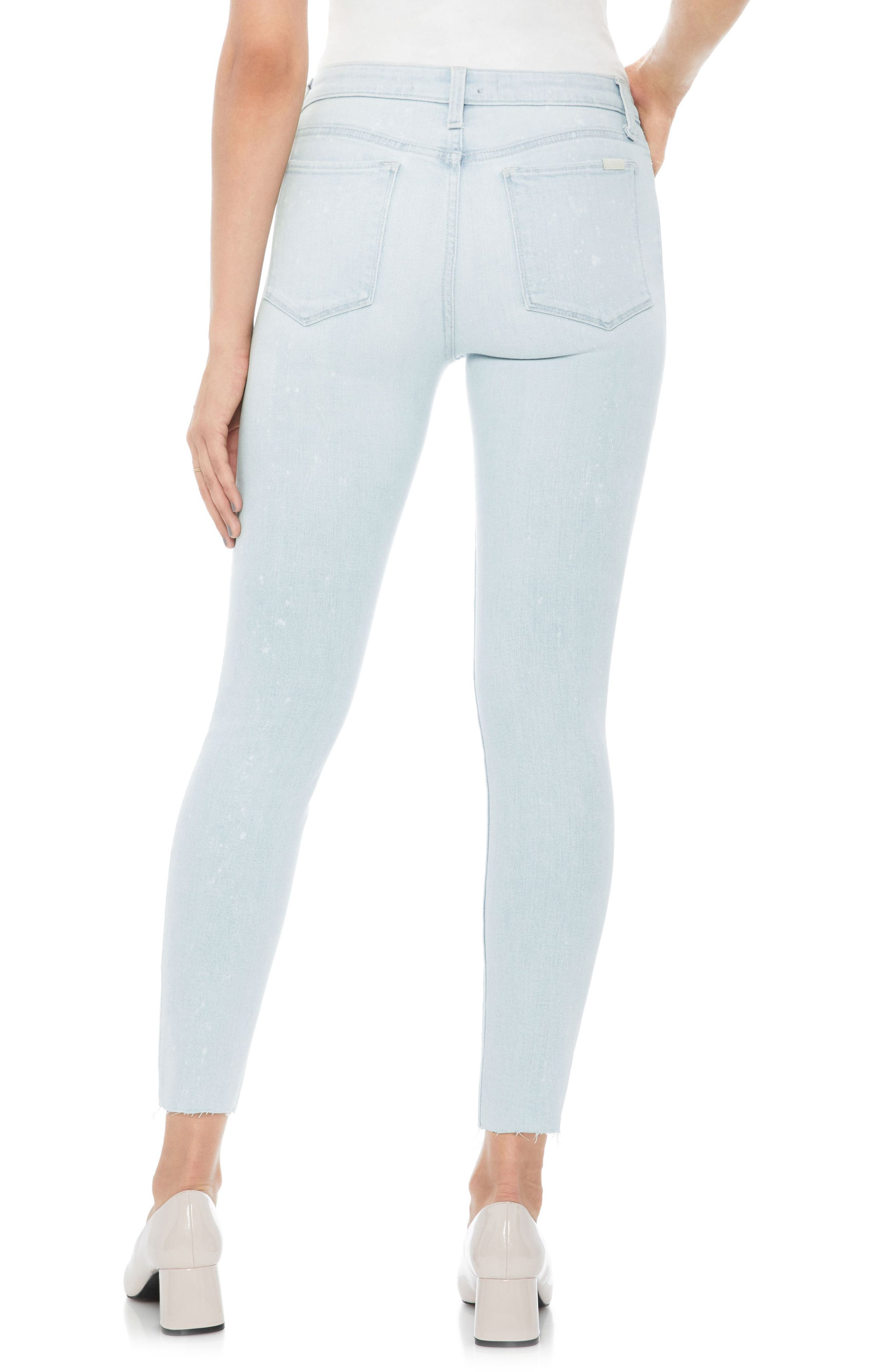 JOE'S,                             Flawless - Charlie High Waist Ankle Skinny Jeans,                             Alternate thumbnail 2, color,                             450