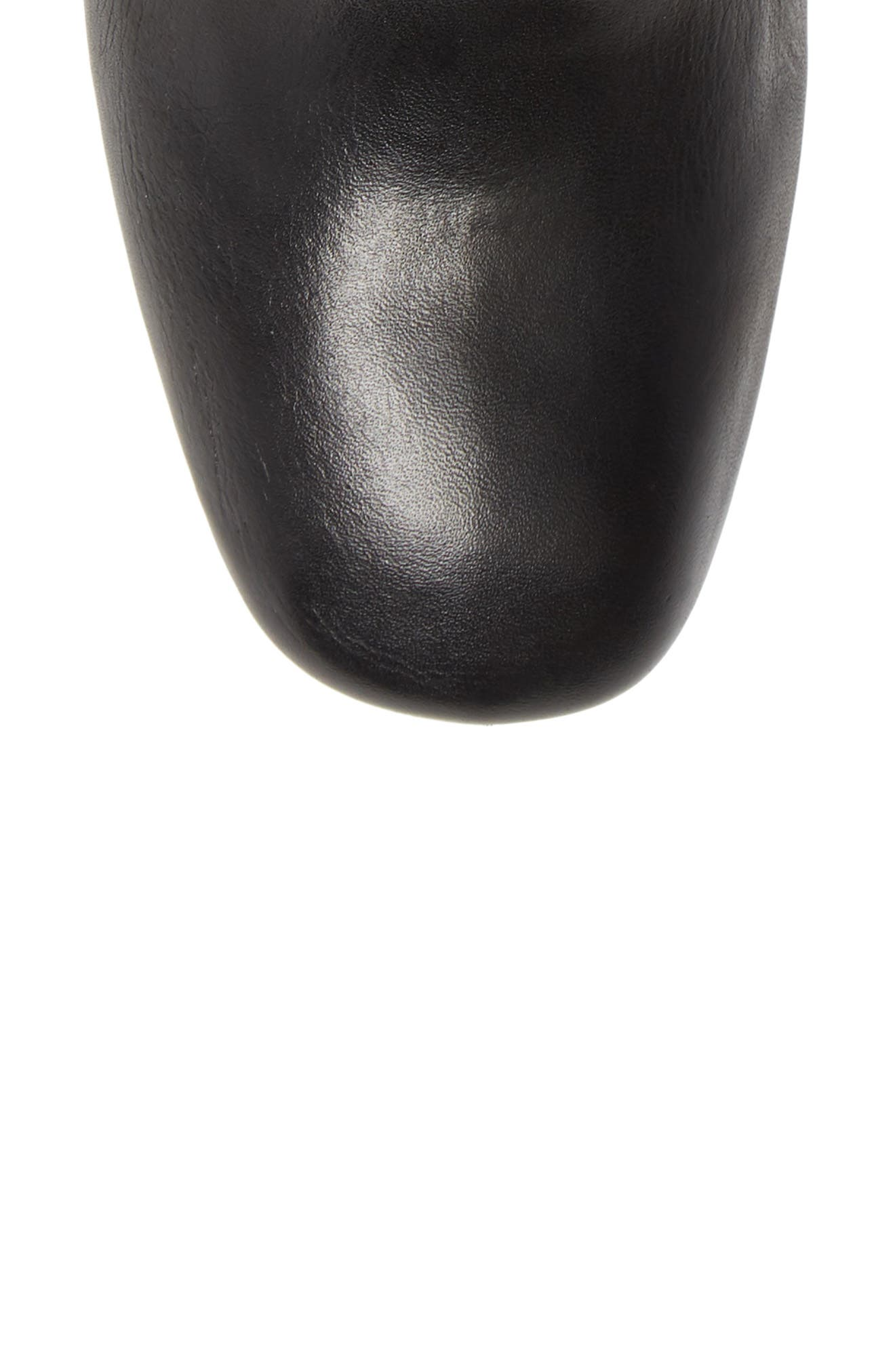 Eryc Bootie,                             Alternate thumbnail 5, color,                             BLACK LEATHER