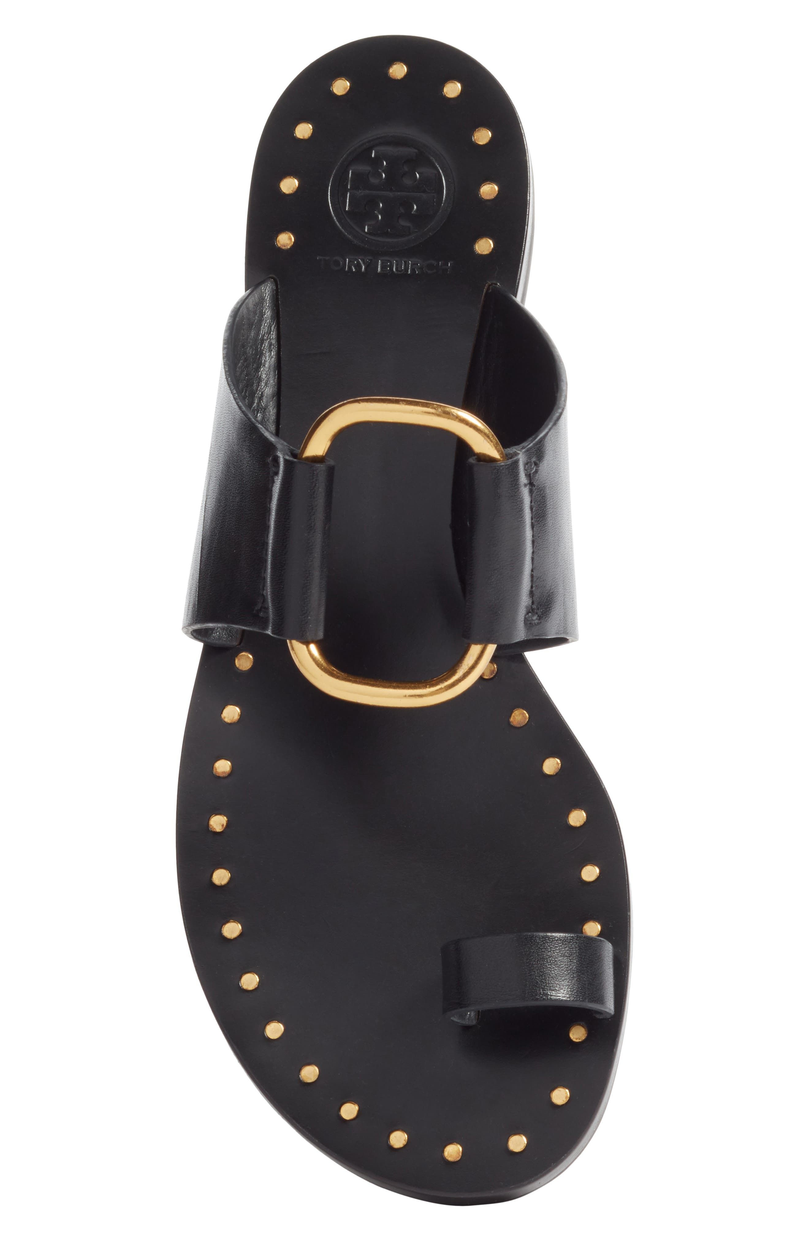 Brannan Studded Sandal,                             Alternate thumbnail 5, color,                             006