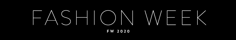 fashion week 2020