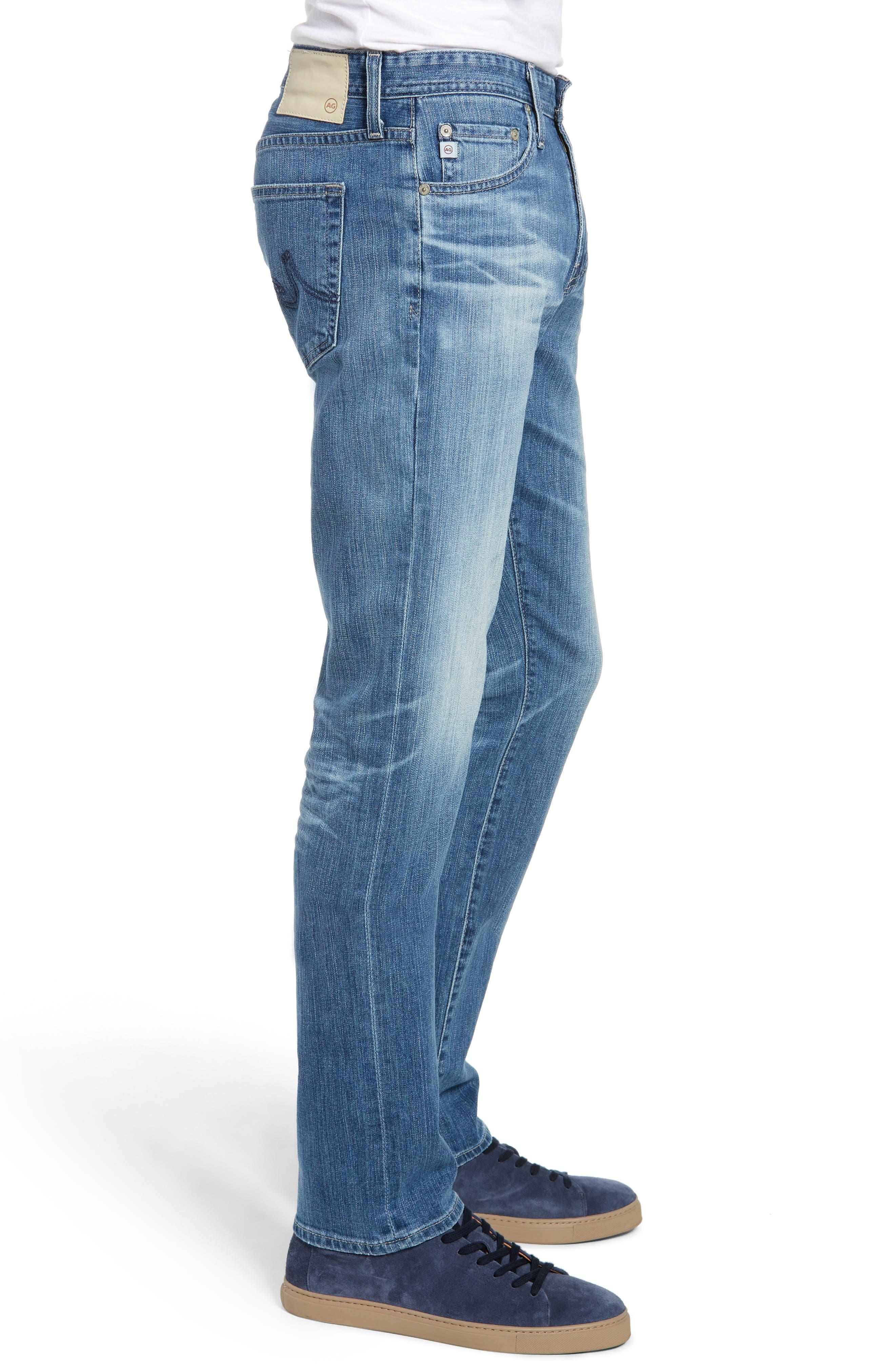 Everett Slim Straight Leg Jeans,                             Alternate thumbnail 3, color,                             14 YEARS ENGAGEMENT