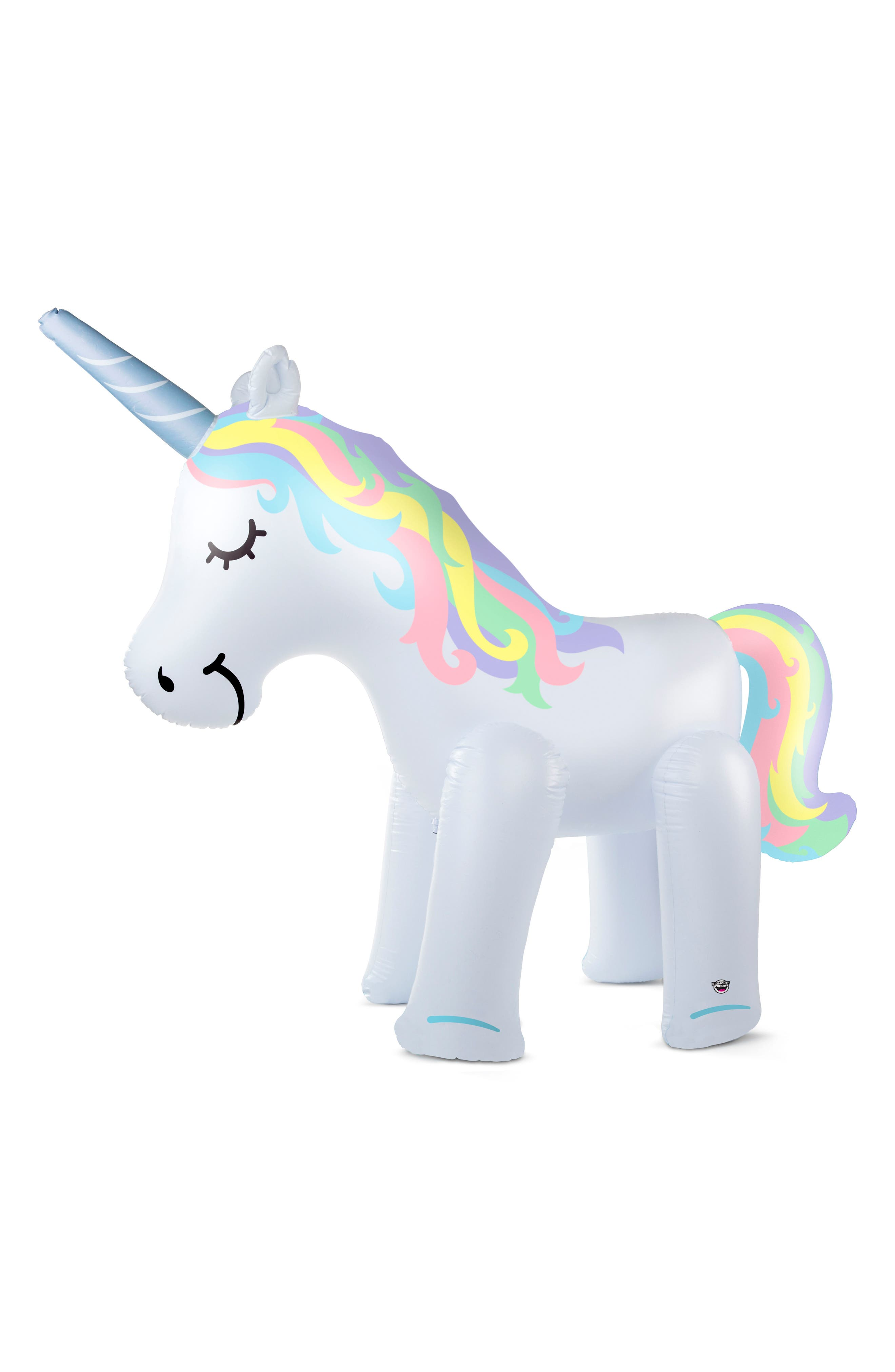 Unicorn Inflatable Yard Sprinkler,                             Main thumbnail 1, color,                             100