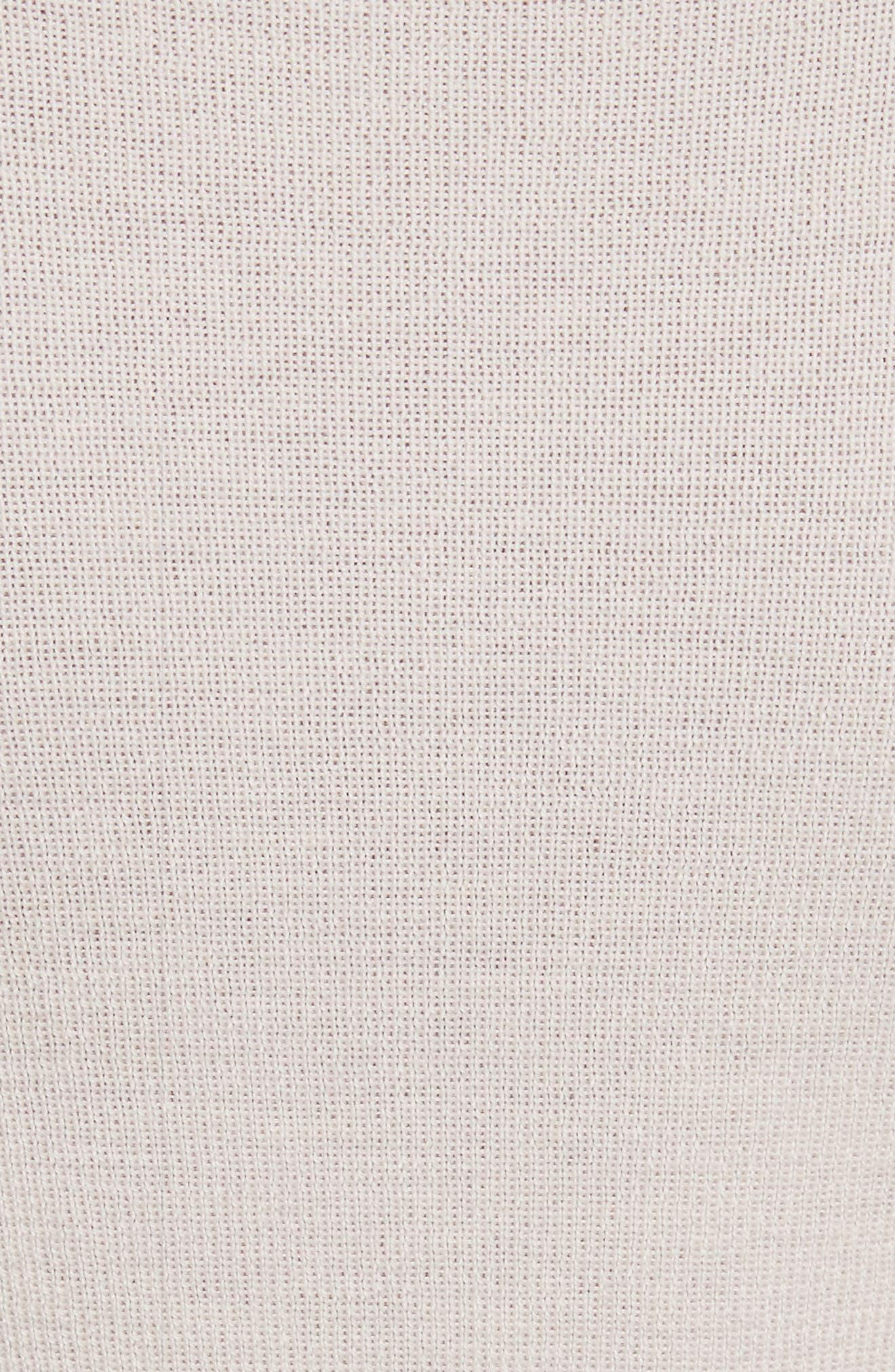 Merino Wool Mock Neck Pullover,                             Alternate thumbnail 5, color,