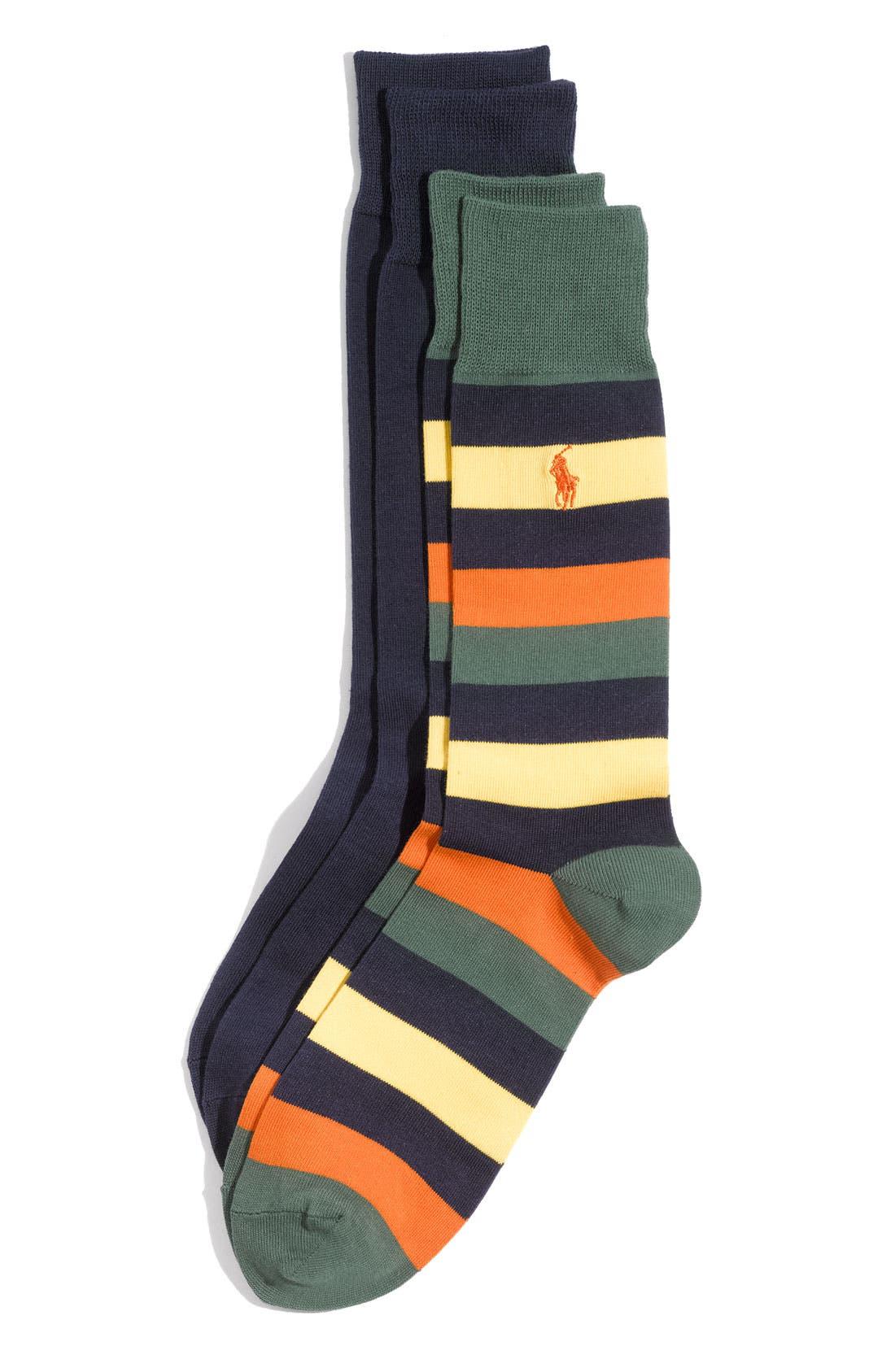 Cotton Blend Socks,                             Main thumbnail 21, color,