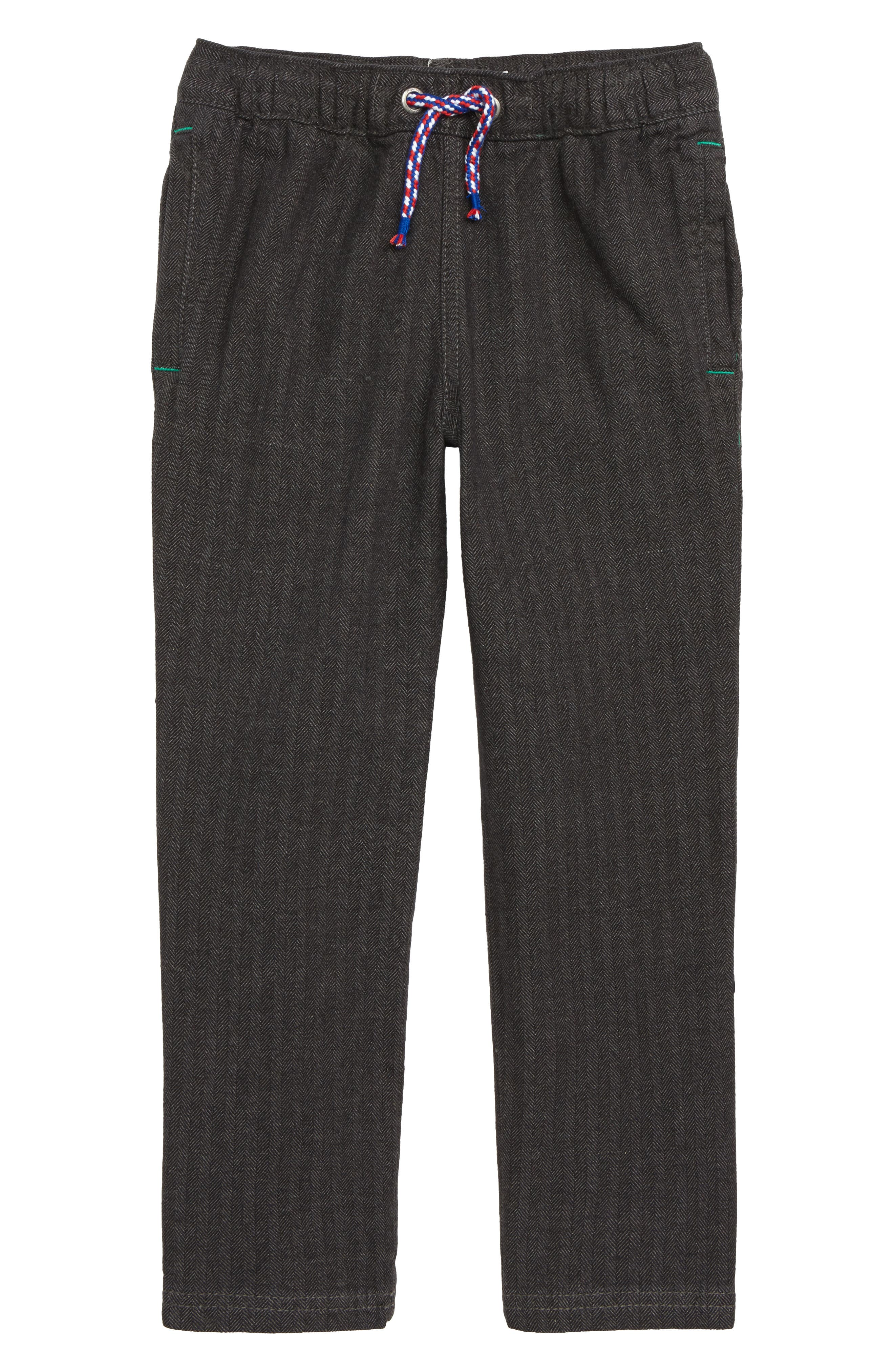 Smart Pull-On Pants,                         Main,                         color, GRY GREY HERRINGBONE