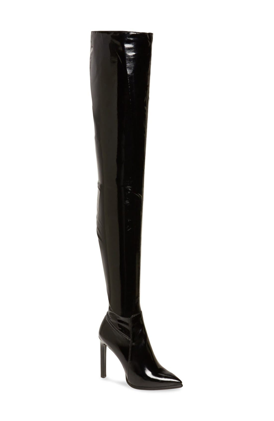 'Sherise' Over the Knee Boot, Main, color, 001
