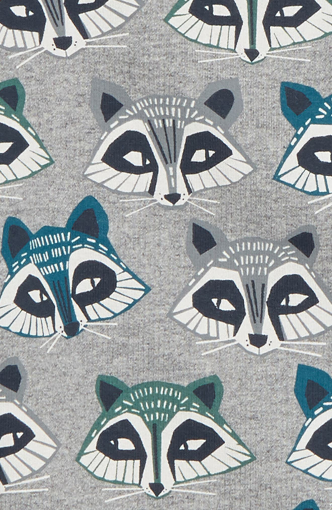 Racoon Sweatshirt,                             Alternate thumbnail 2, color,                             MEDIUM HEATHER GREY