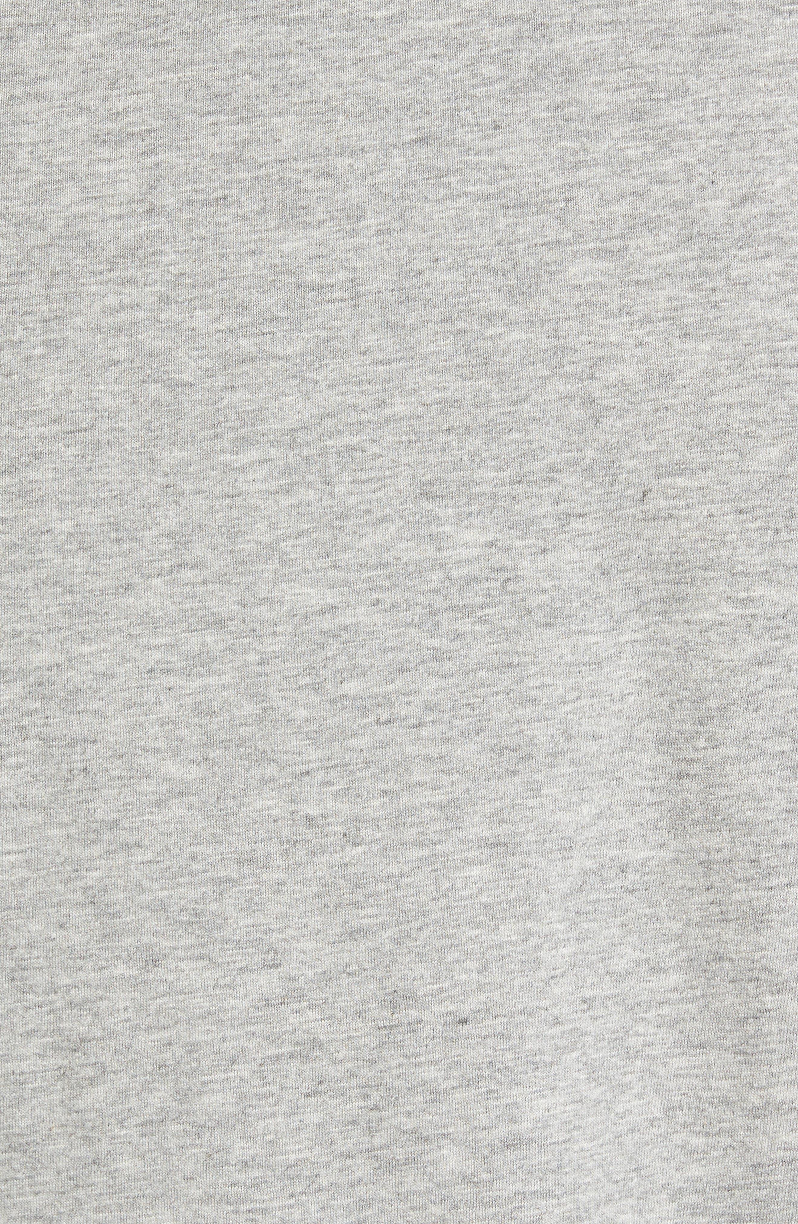 'Gym Logo' Graphic T-Shirt,                             Alternate thumbnail 5, color,                             037