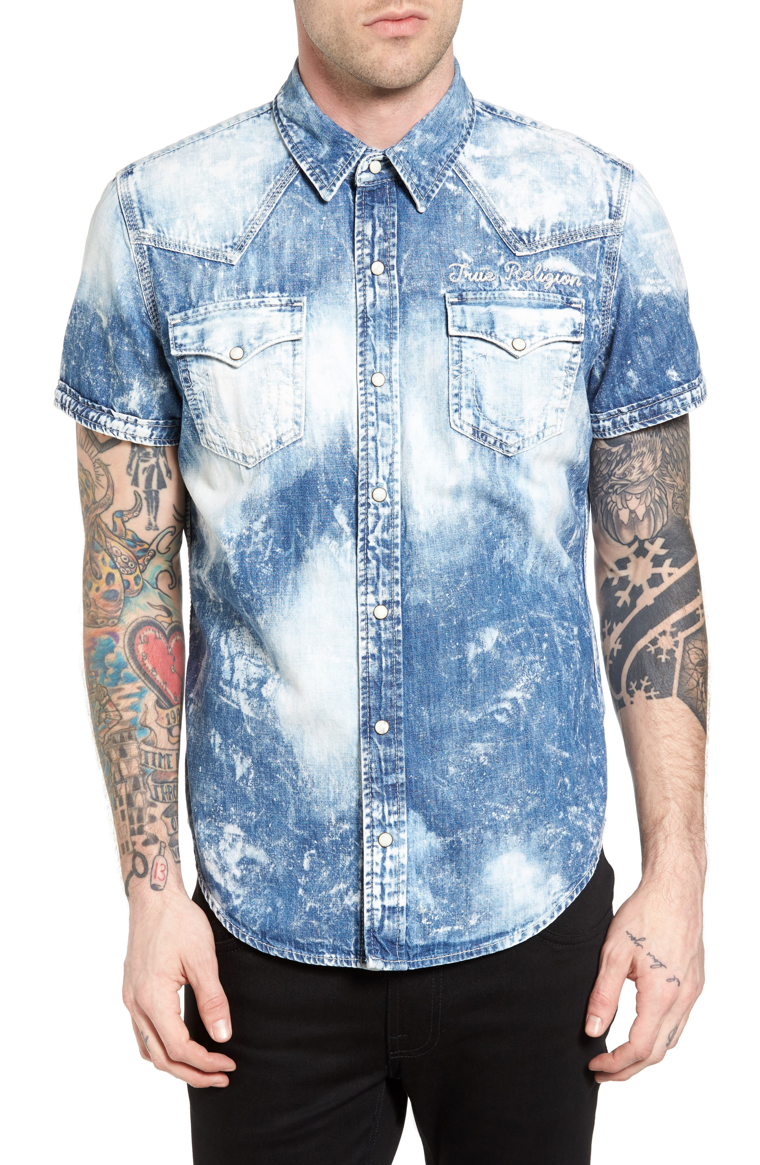 Ryan Runyon Rebel Long Sleeve Western Shirt,                             Main thumbnail 2, color,