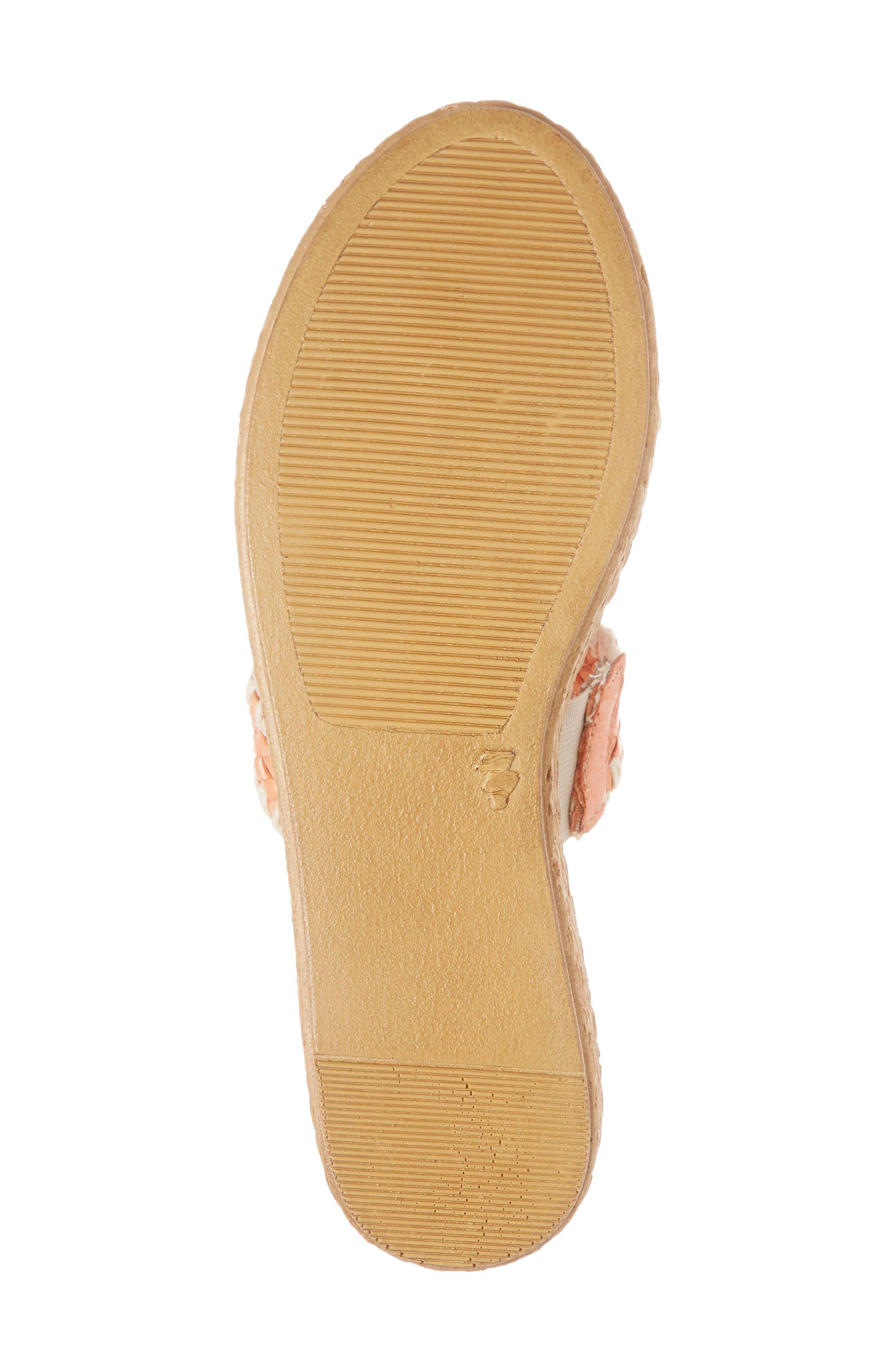 SBICCA,                             Anette Slide Sandal,                             Alternate thumbnail 6, color,                             CORAL