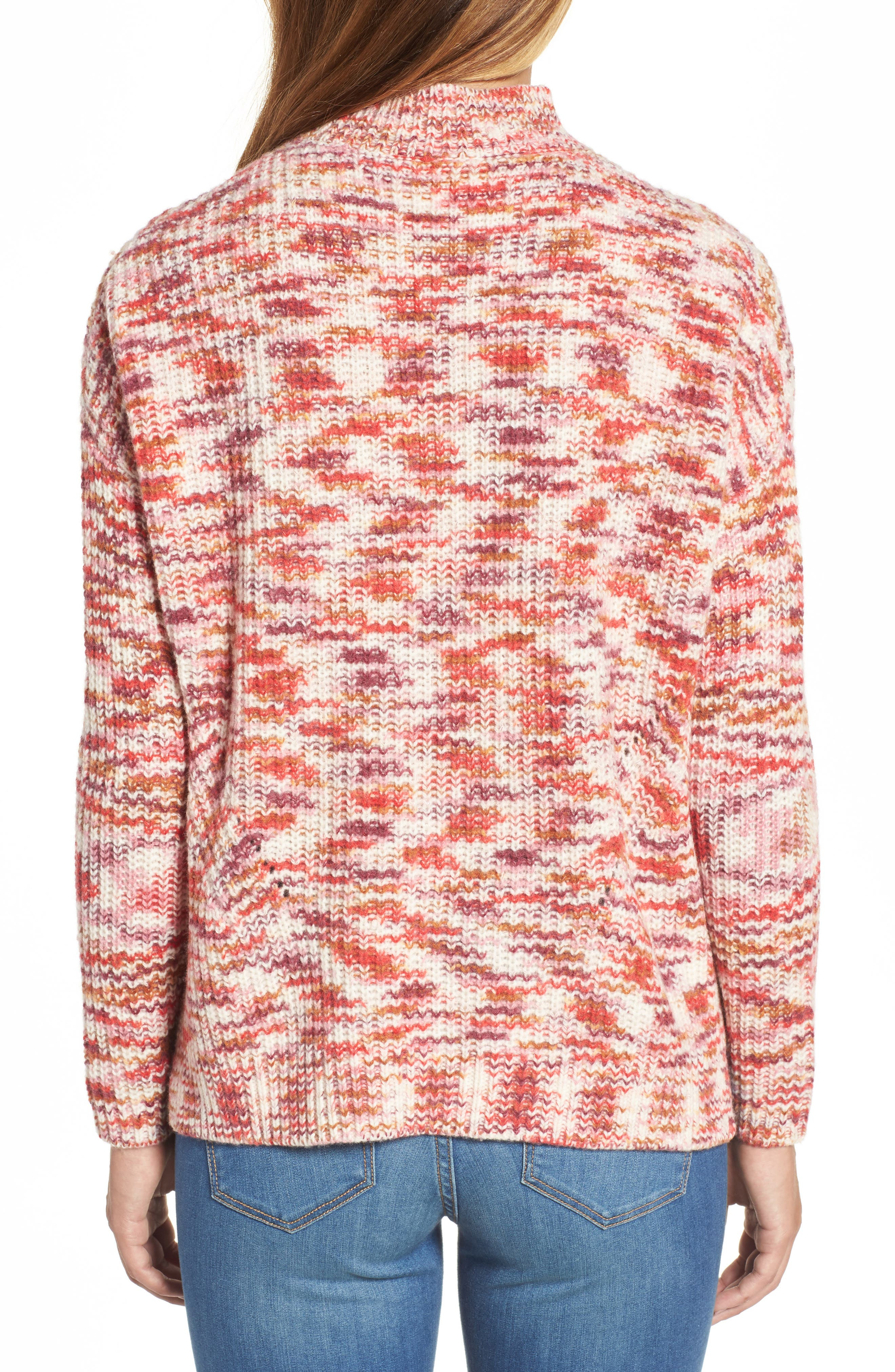 Mock Neck Sweater,                             Alternate thumbnail 2, color,                             651