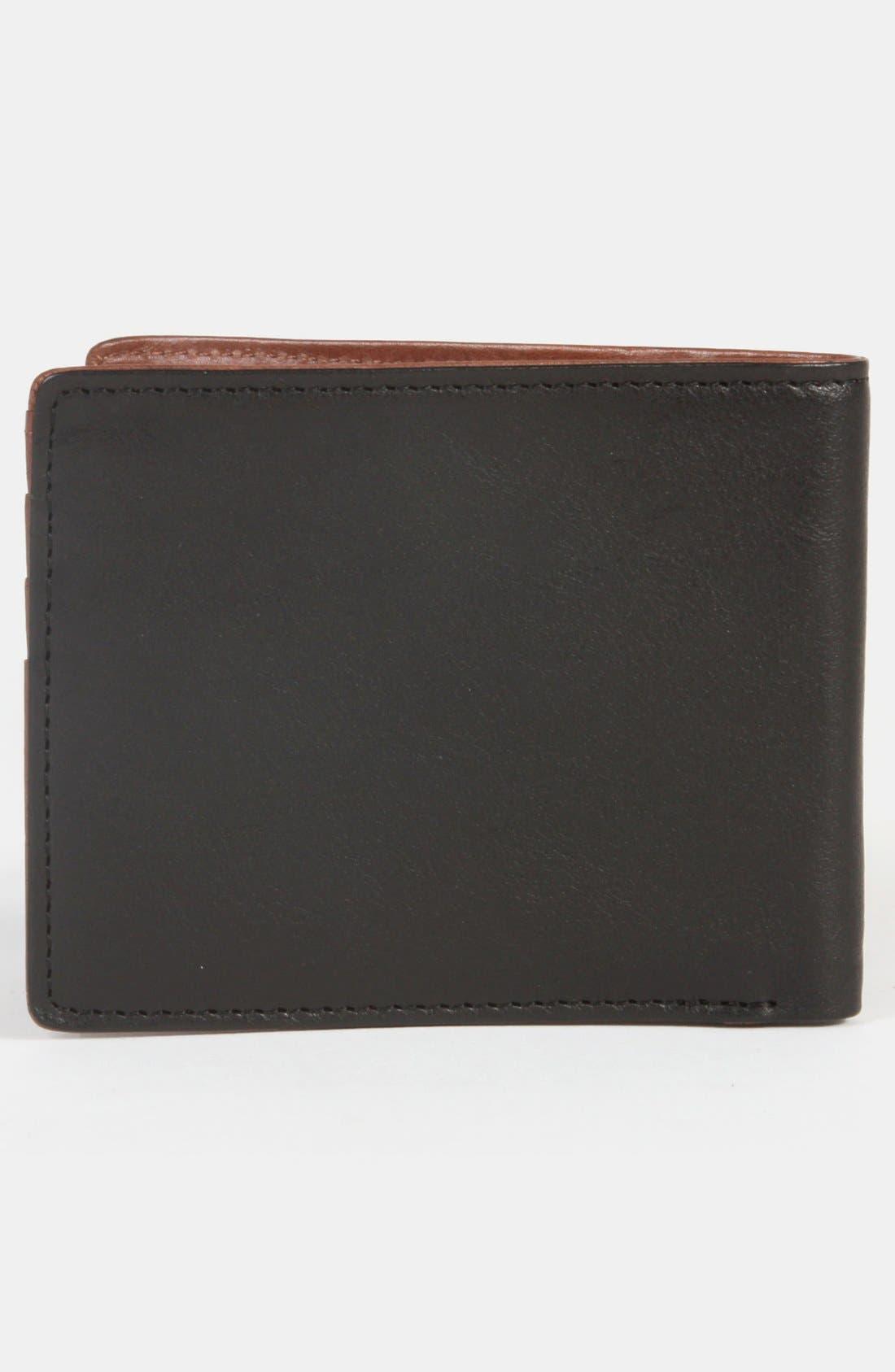 WILL LEATHER GOODS,                             'Barnard' Wallet,                             Alternate thumbnail 3, color,                             001