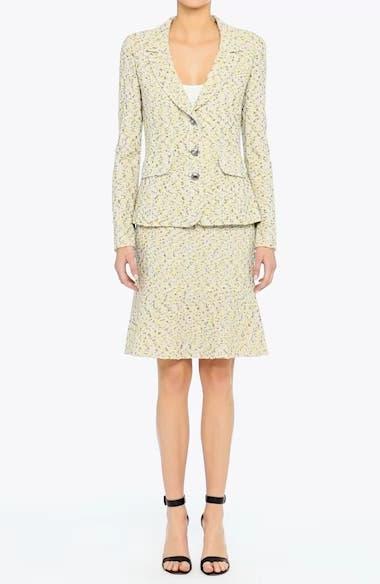 Romee Tweed Fit & Flare Skirt, video thumbnail