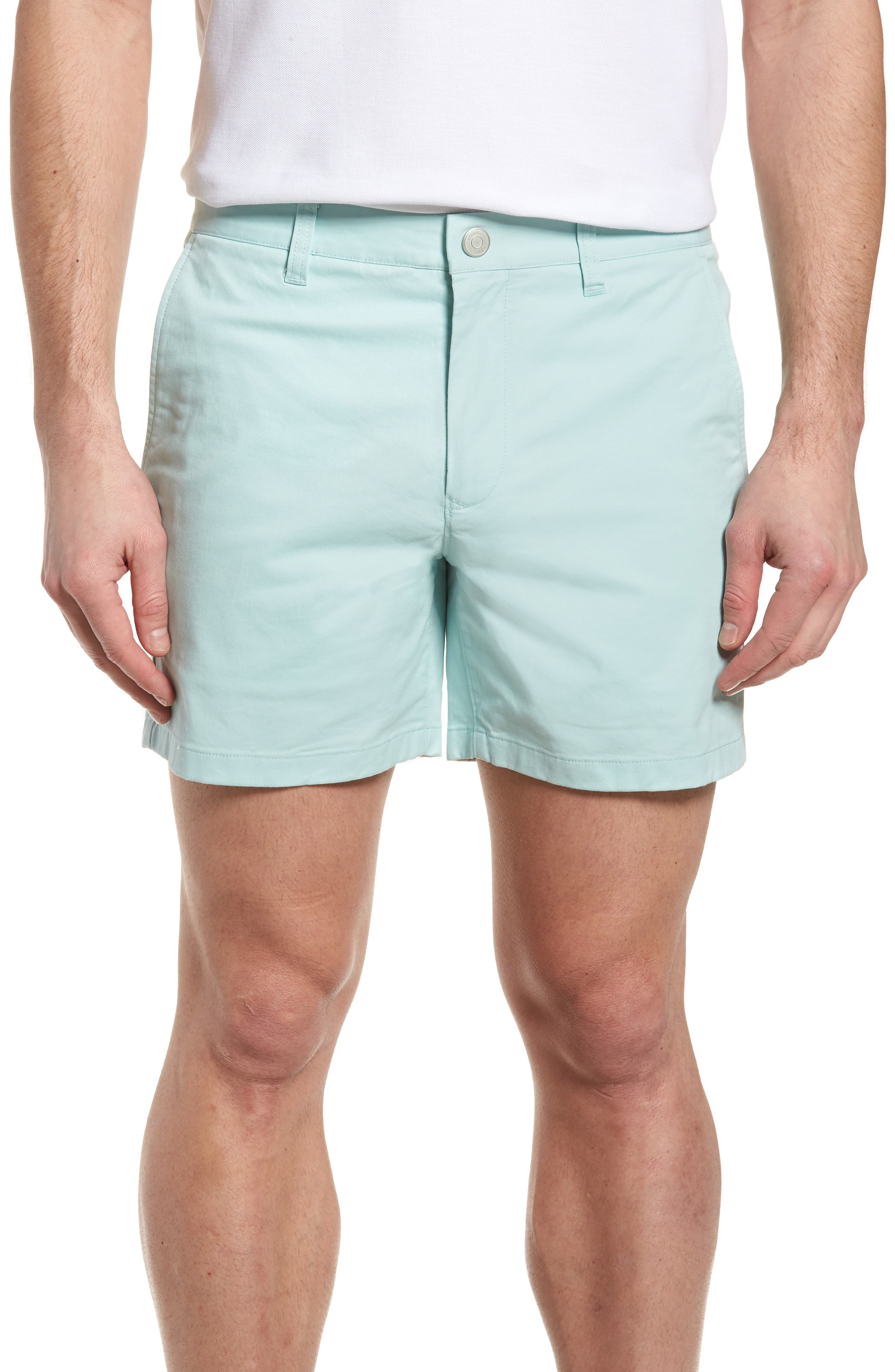Stretch Washed Chino 5-Inch Shorts,                             Main thumbnail 6, color,