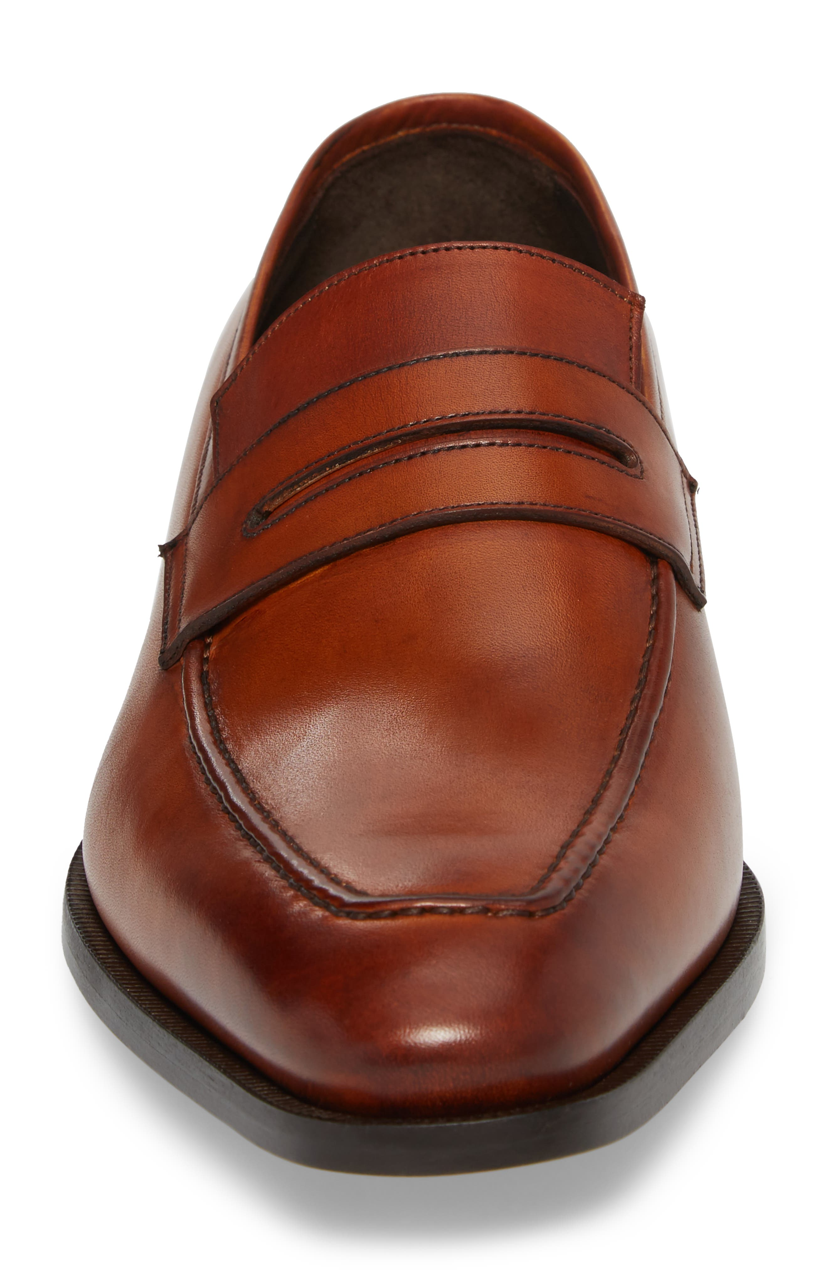 Eastwood Apron Toe Penny Loafer,                             Alternate thumbnail 4, color,                             231