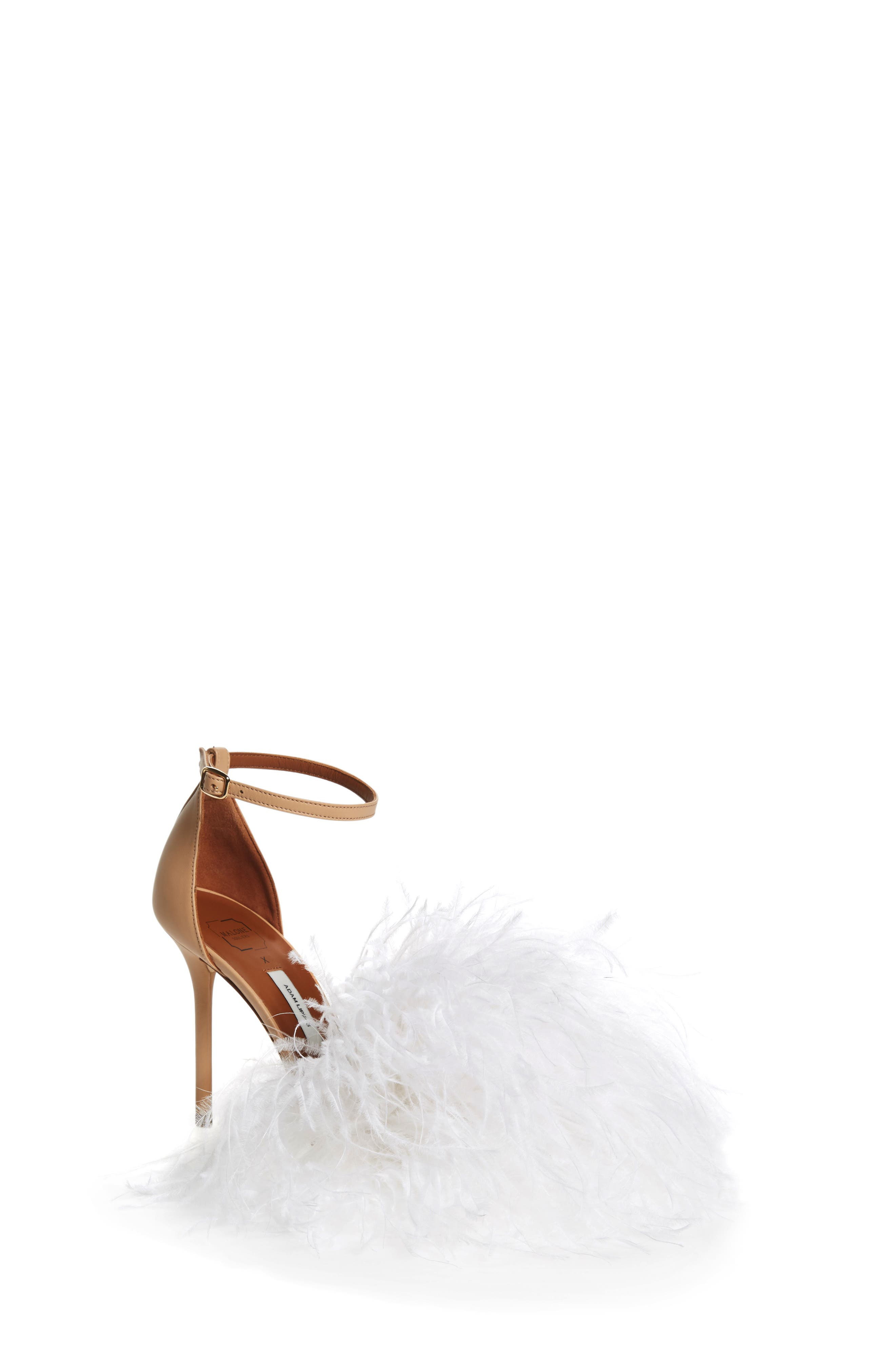 MALONE SOULIERS,                             Nicoletta Feather Sandal,                             Main thumbnail 1, color,                             250