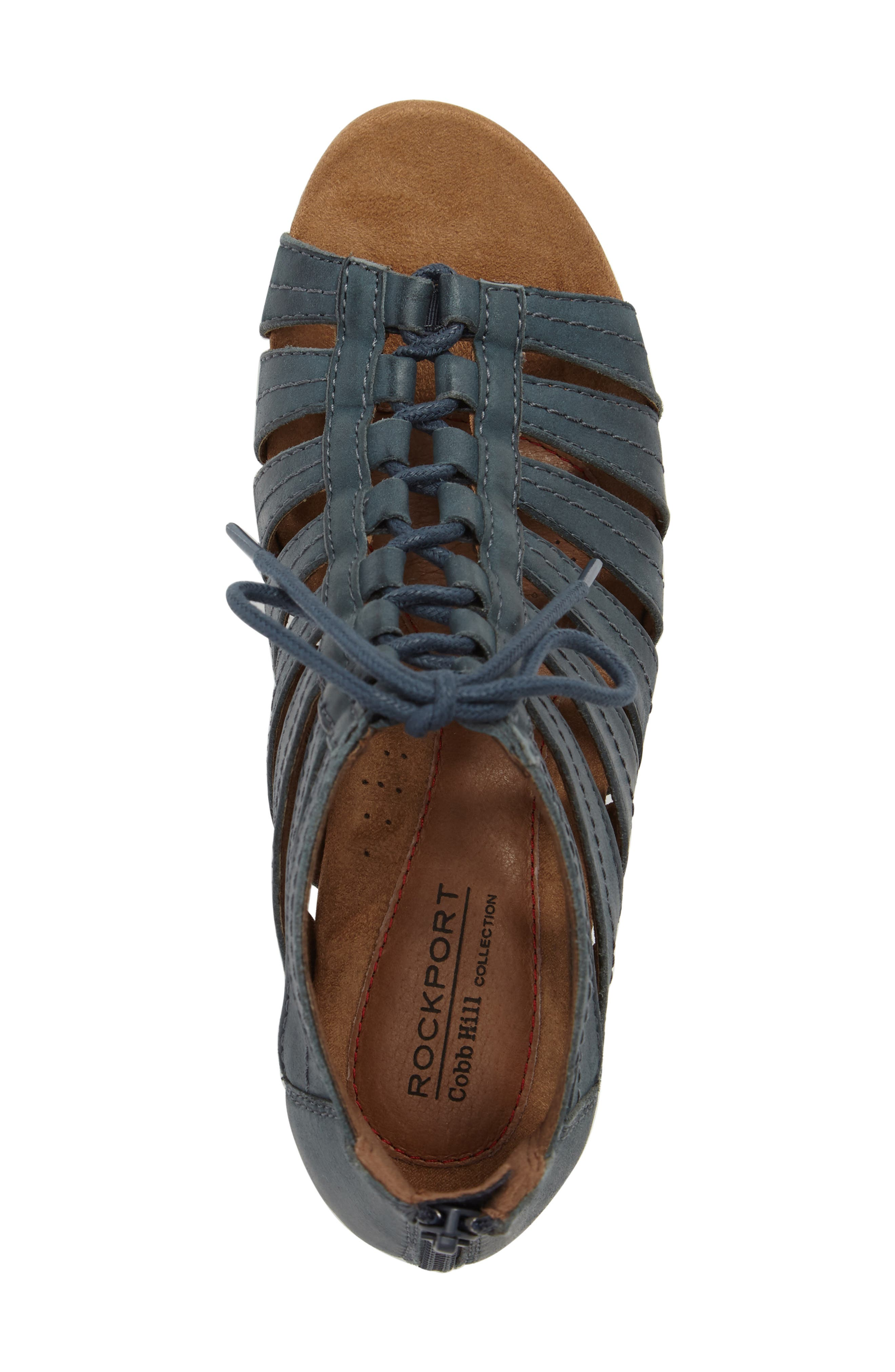 'Gabby' Lace-Up Sandal,                             Alternate thumbnail 39, color,