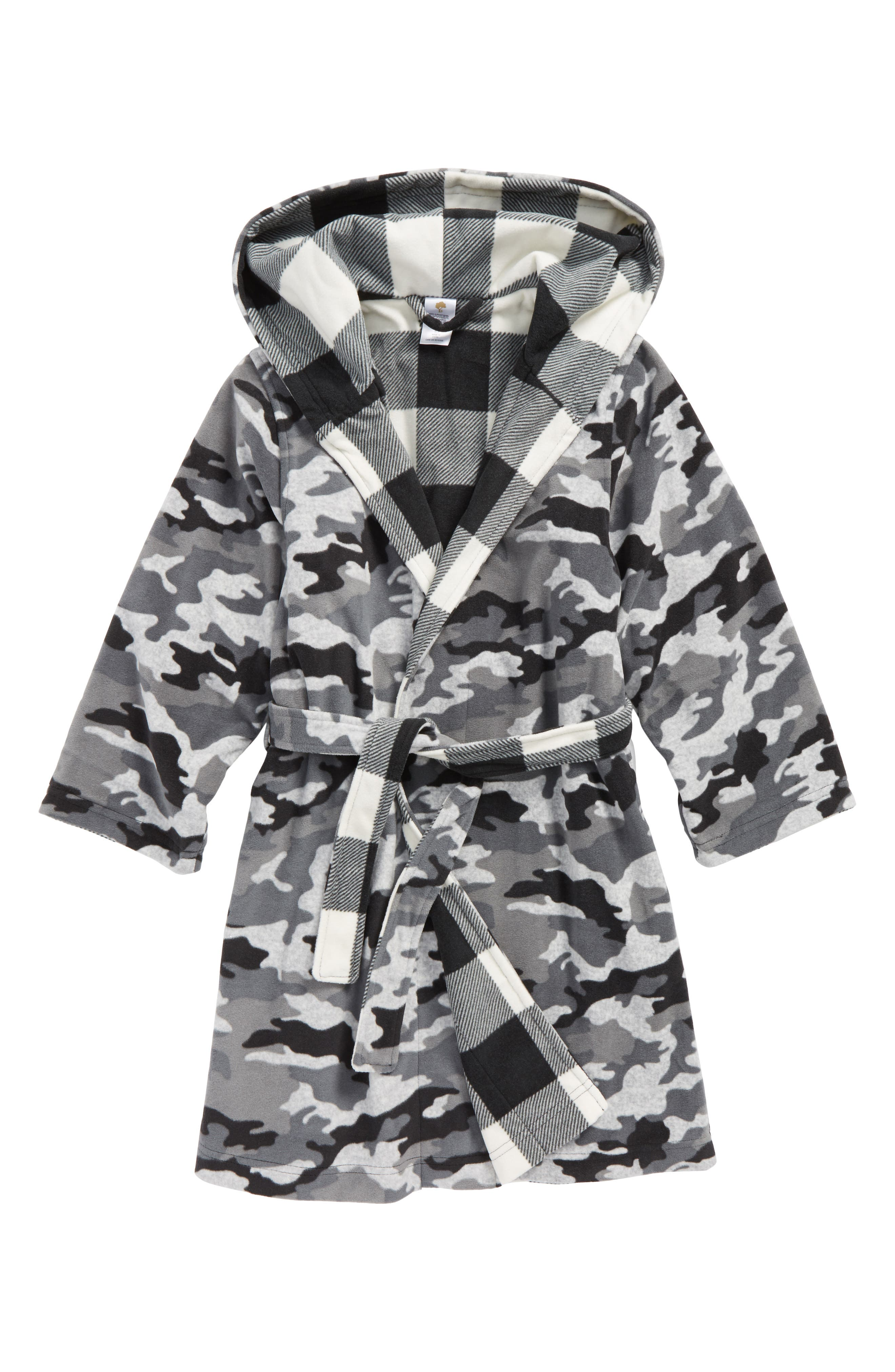 Reversible Hooded Robe,                         Main,                         color,