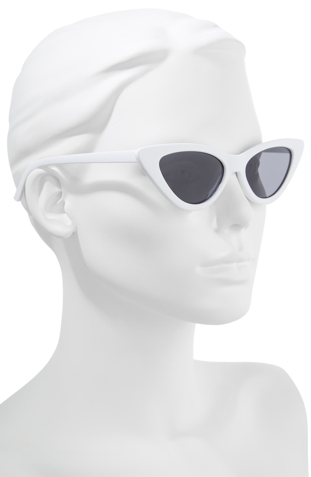 62mm Cat Eye Sunglasses,                             Alternate thumbnail 2, color,                             100