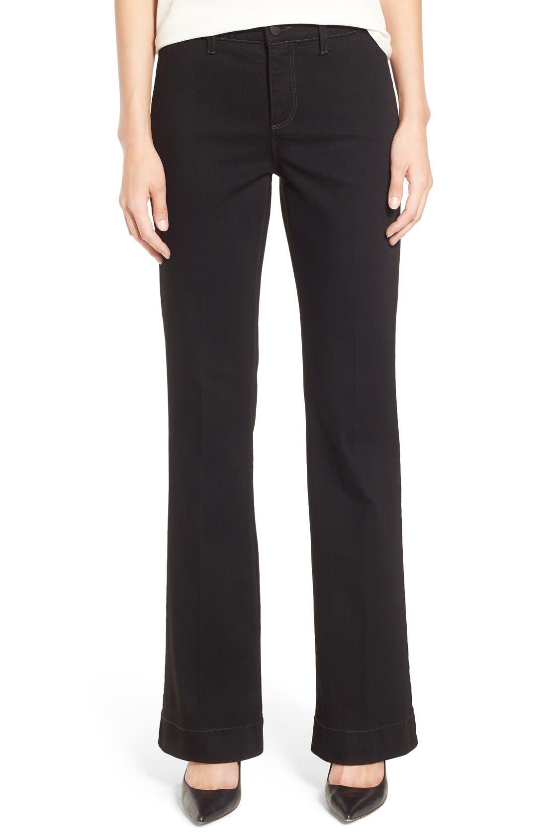'Teresa' Wide Leg Trouser Jeans, Main, color, 007