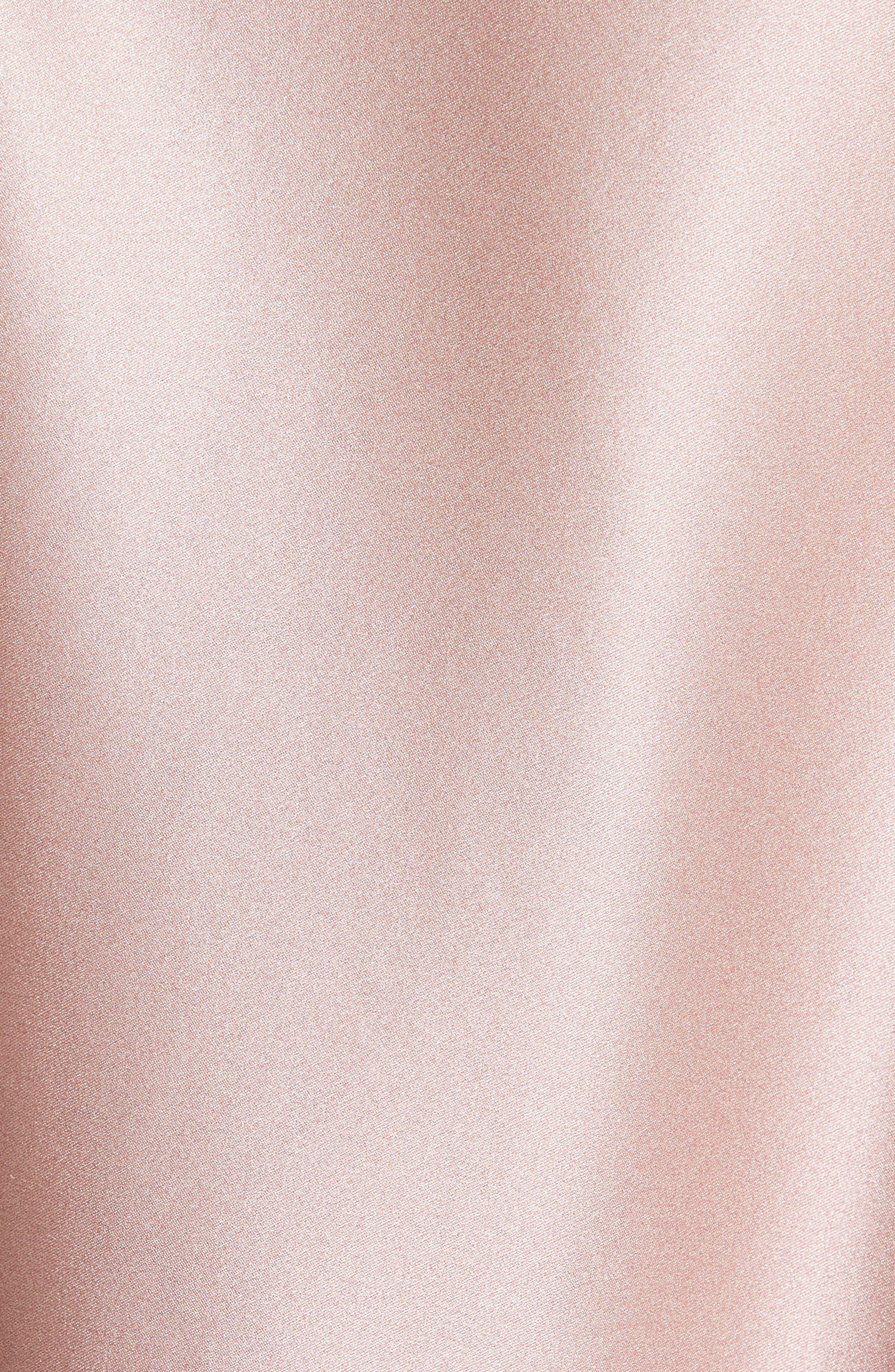 GREY Jason Wu Ombré Silk Shirt,                             Alternate thumbnail 5, color,                             DESERT ROSE