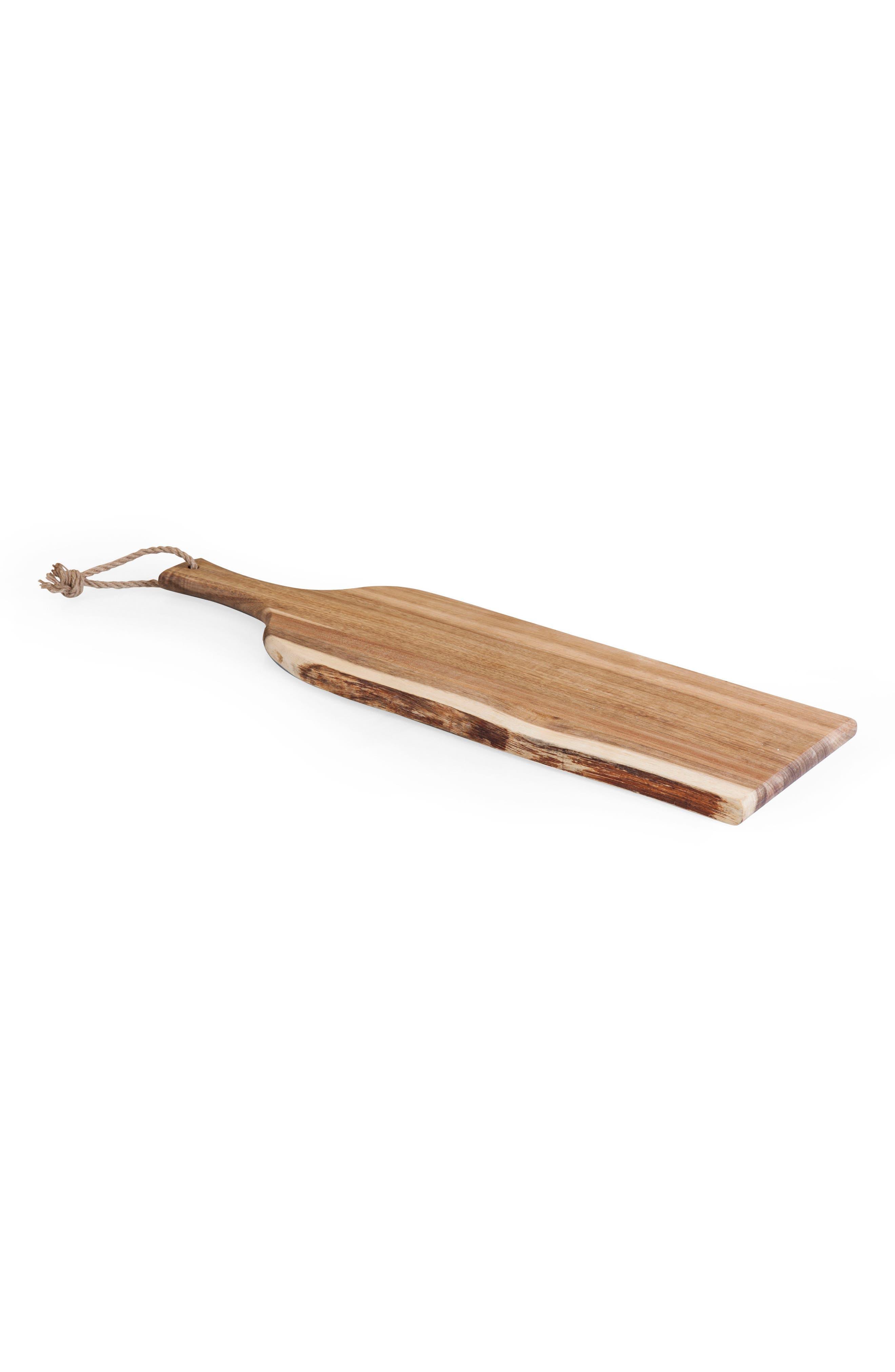 Artisan Acacia Serving Plank,                             Main thumbnail 1, color,                             BROWN