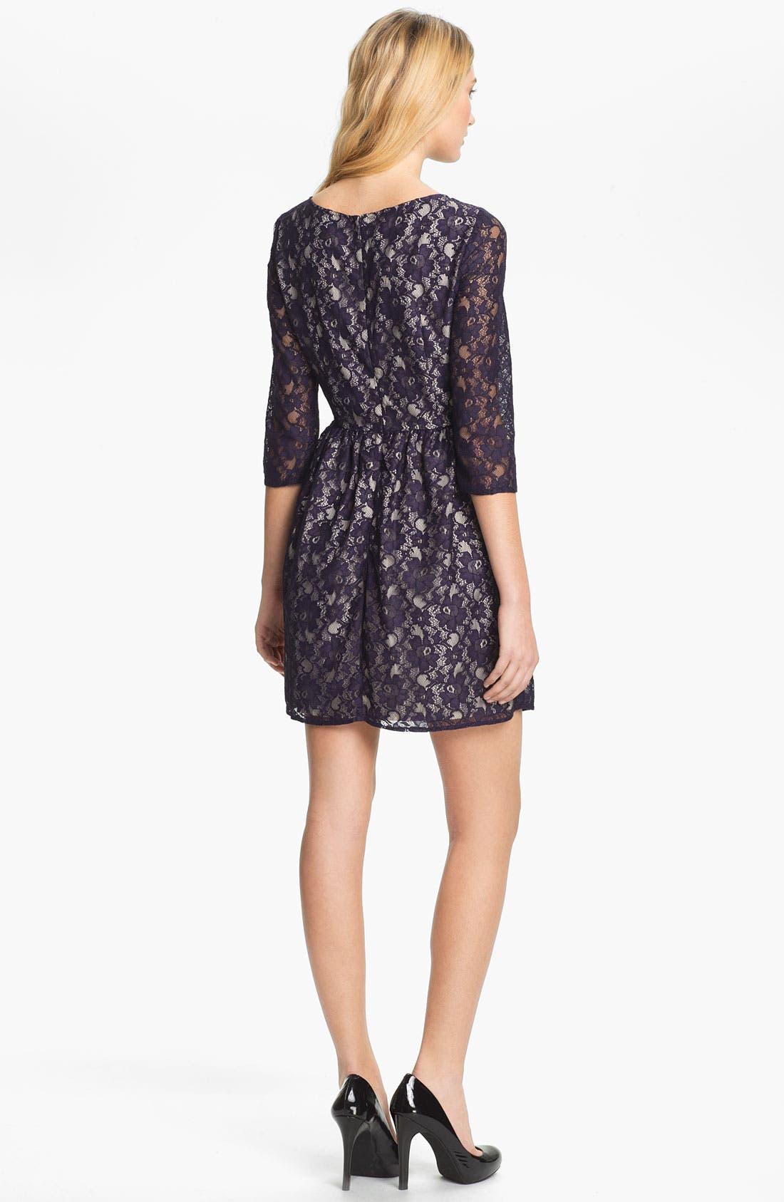 'Lizzie' Lace Dress,                             Alternate thumbnail 2, color,                             503